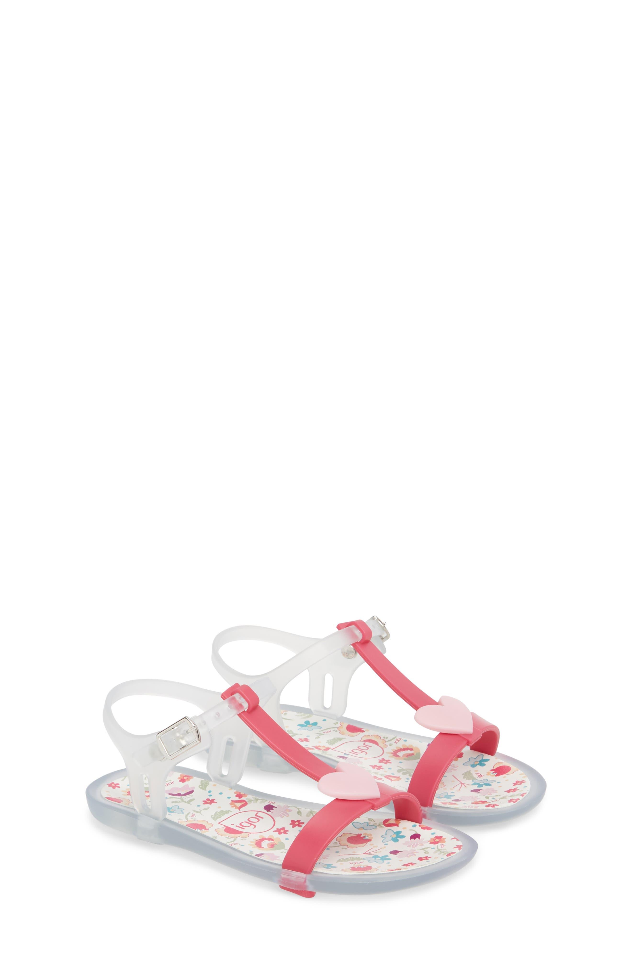 Tricia Cuore T-Strap Sandal,                         Main,                         color, Fuchsia