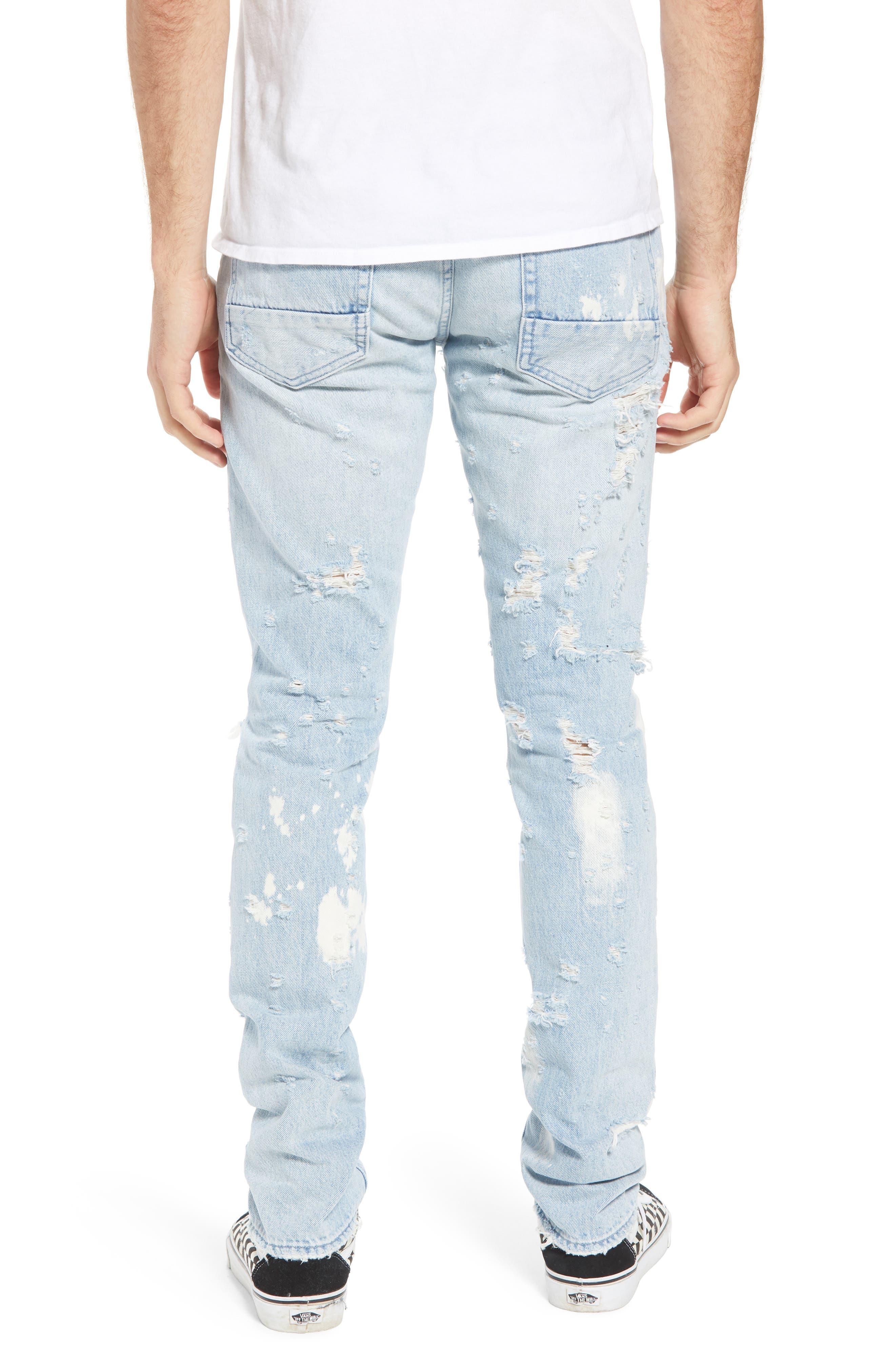 Le Sabre Slim Fit Jeans,                             Alternate thumbnail 2, color,                             Lavish