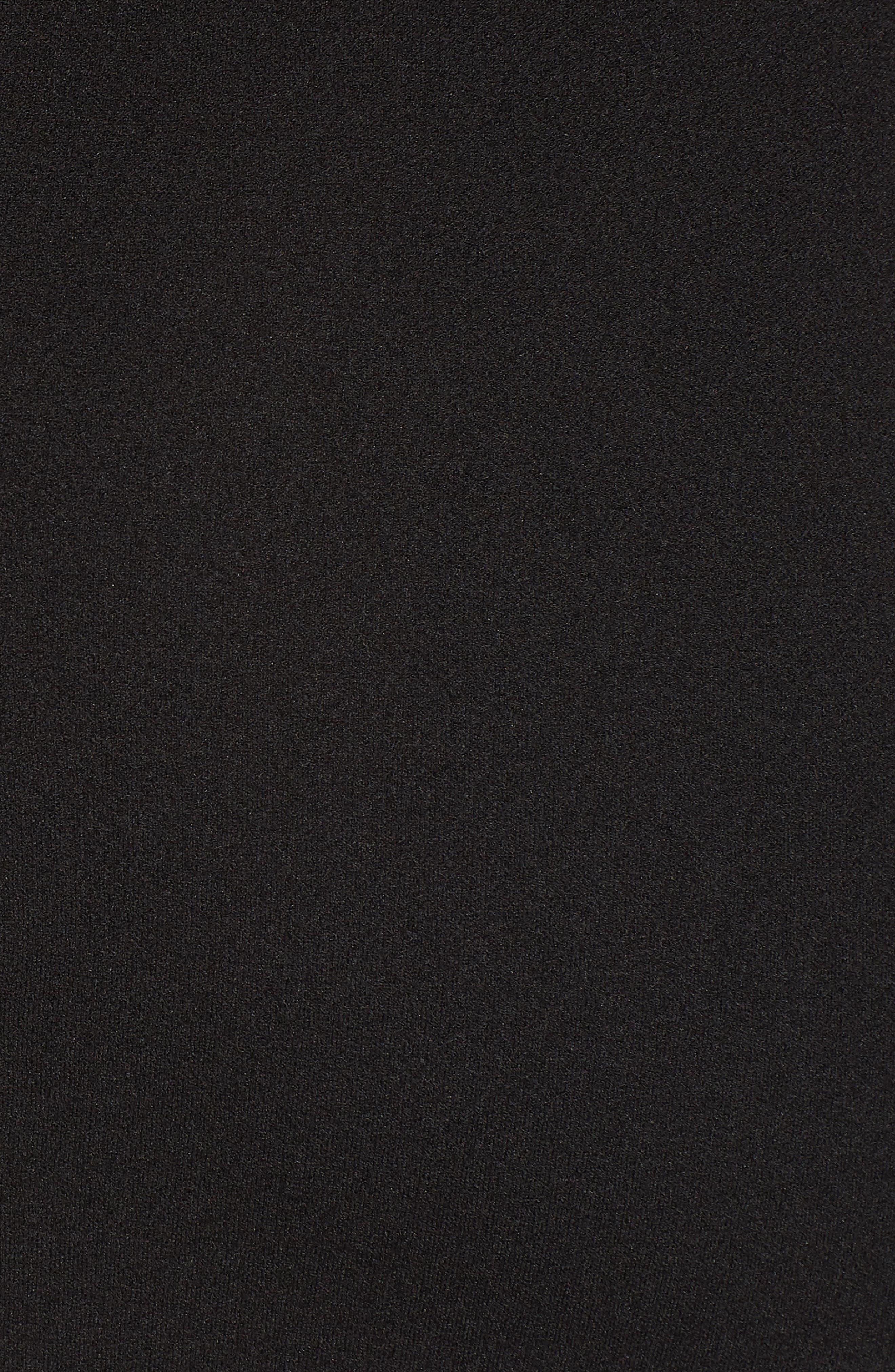 Tube Dress,                             Alternate thumbnail 6, color,                             Black