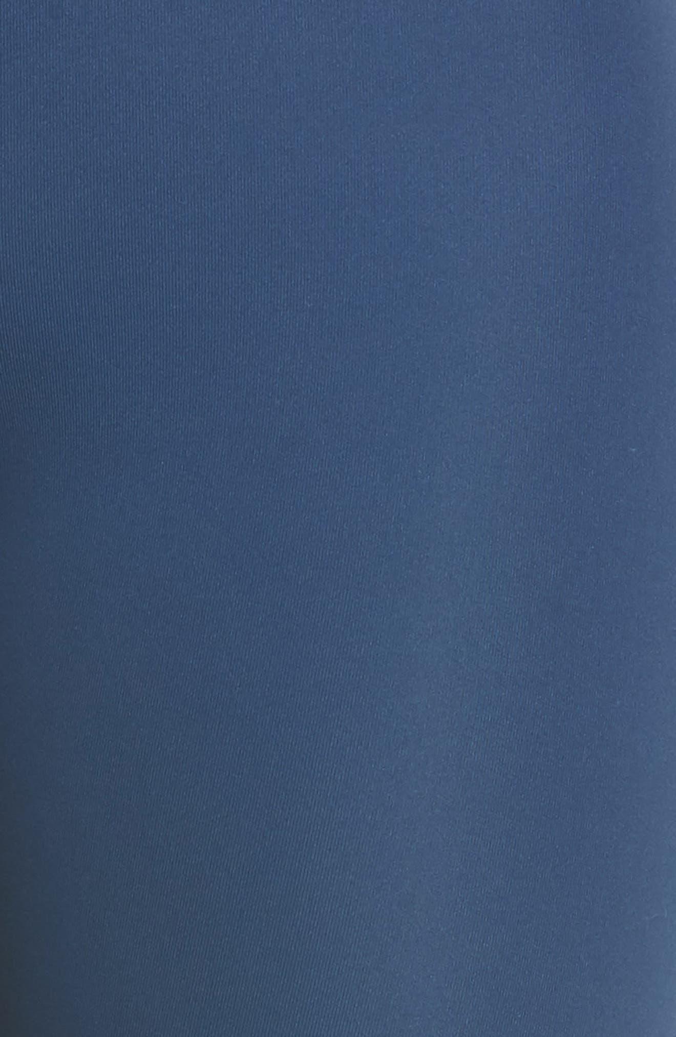 Great Heights Vision High Waist Midi Leggings,                             Alternate thumbnail 5, color,                             Blue Insignia