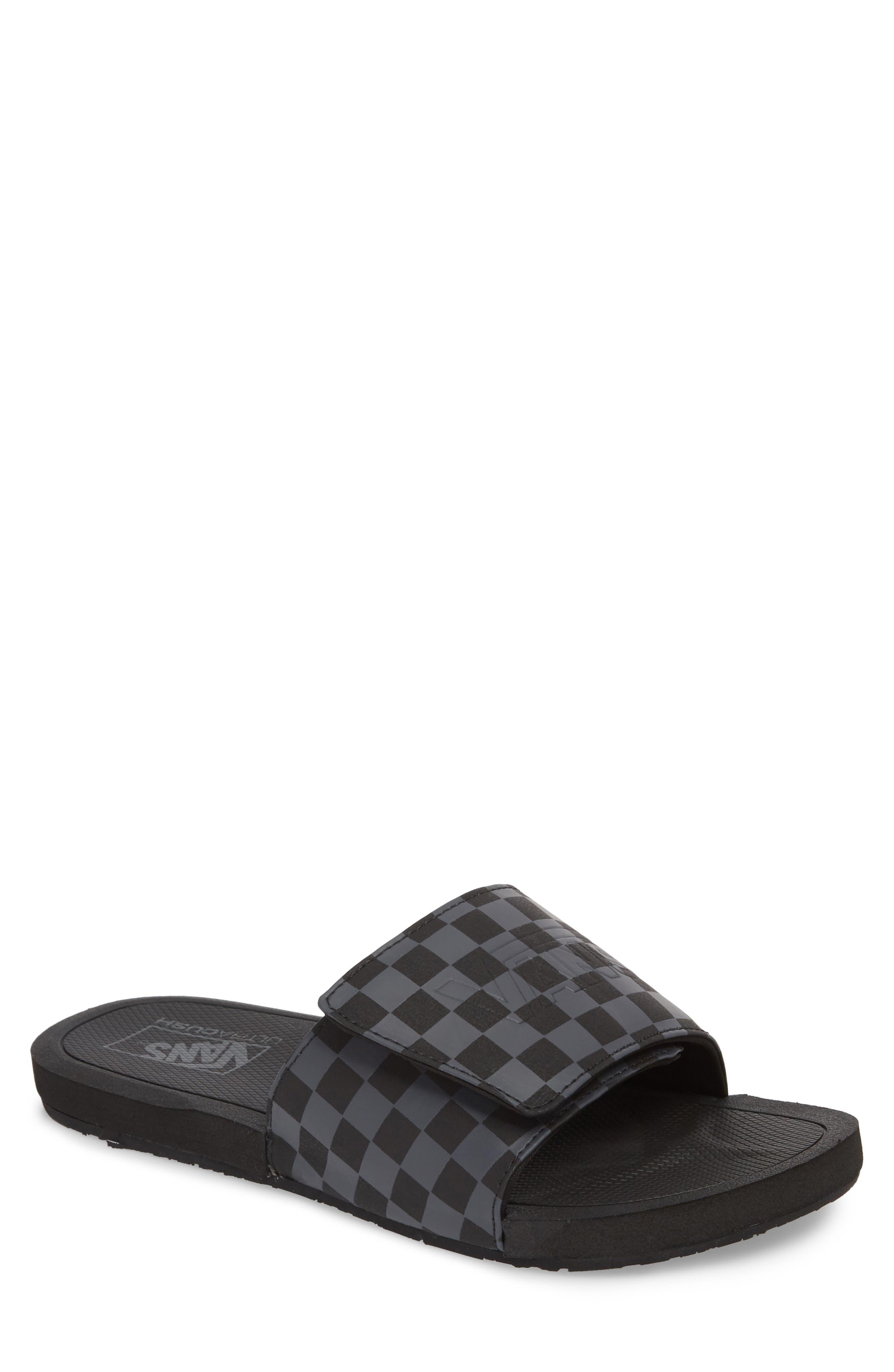 Nexpa Slide Sandal,                             Main thumbnail 1, color,                             Black/ Asphalt