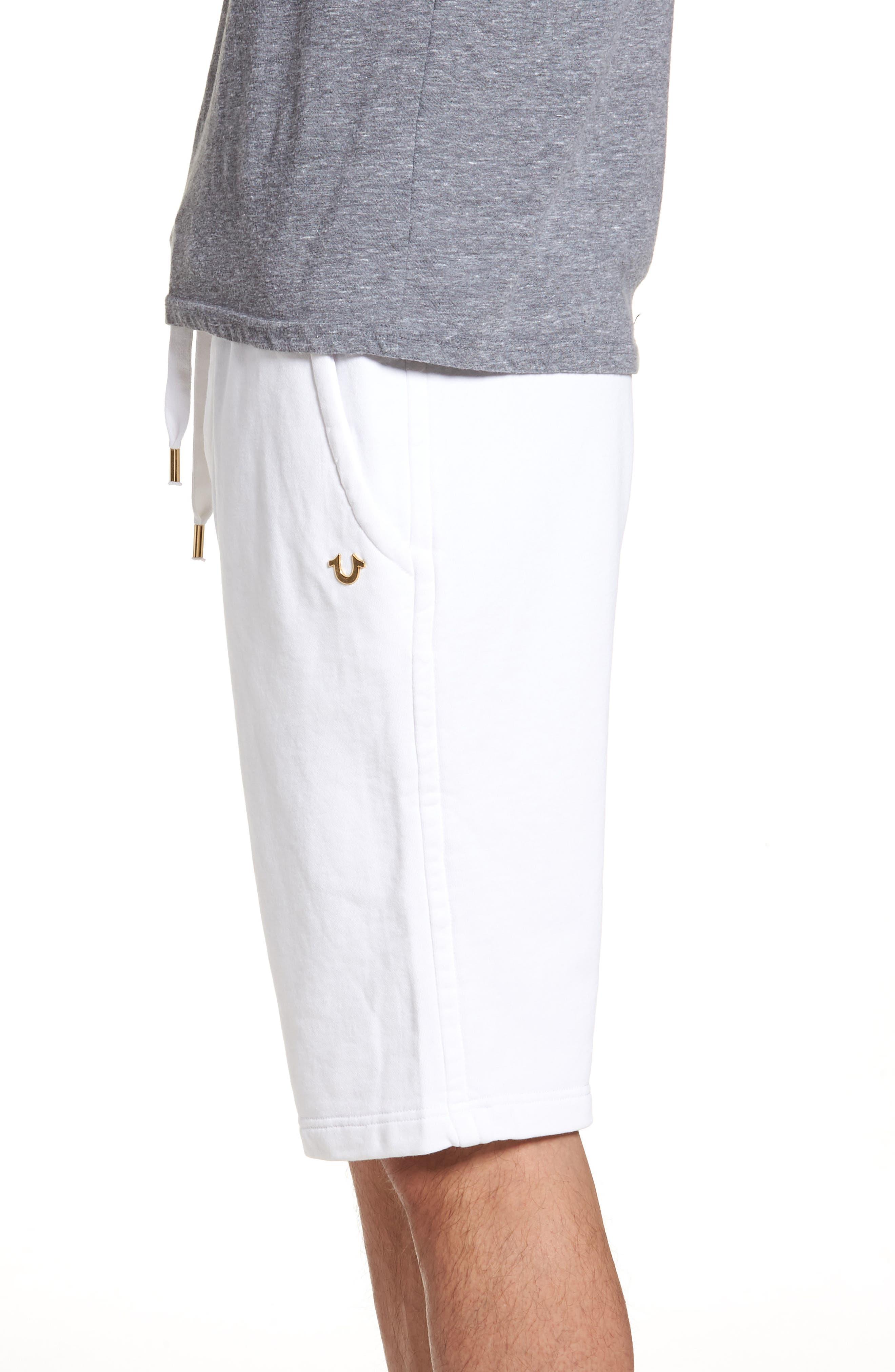 Core Shorts,                             Alternate thumbnail 3, color,                             Soft White
