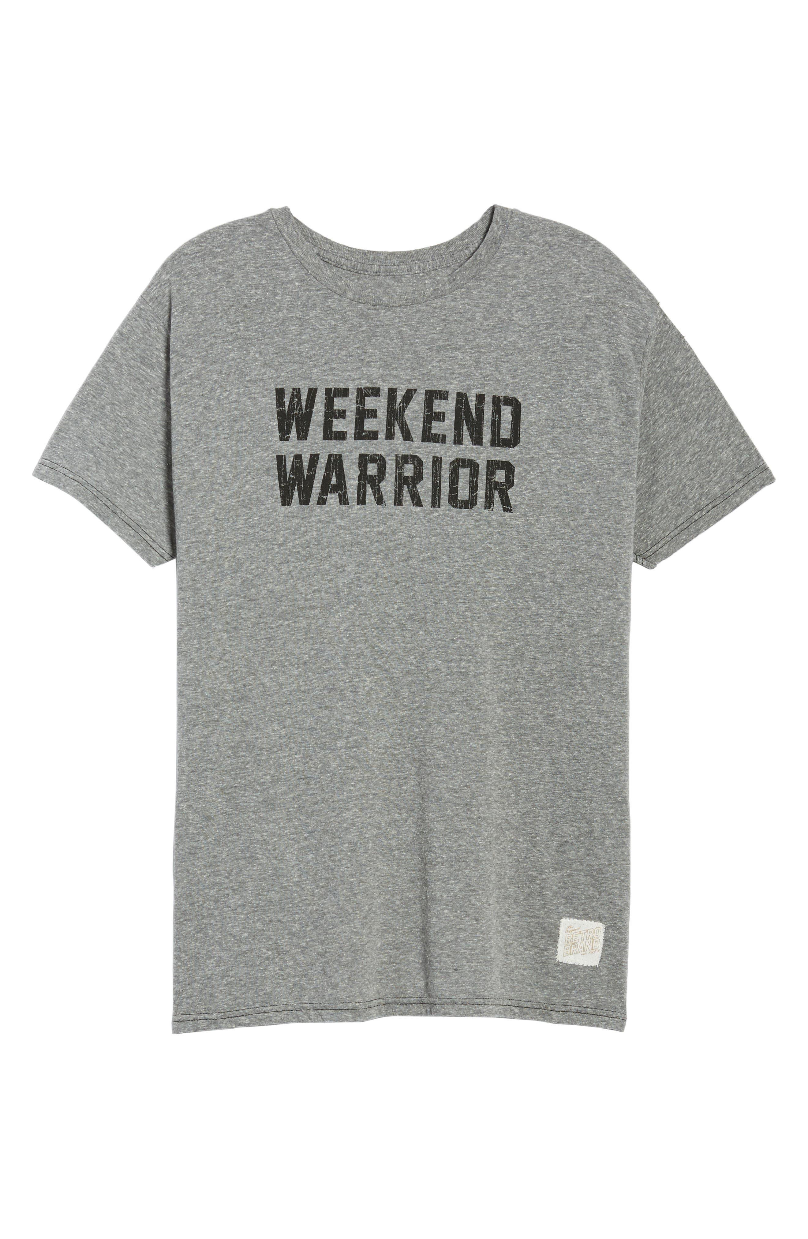 Alternate Image 6  - Retro Brand Weekend Warrior T-Shirt