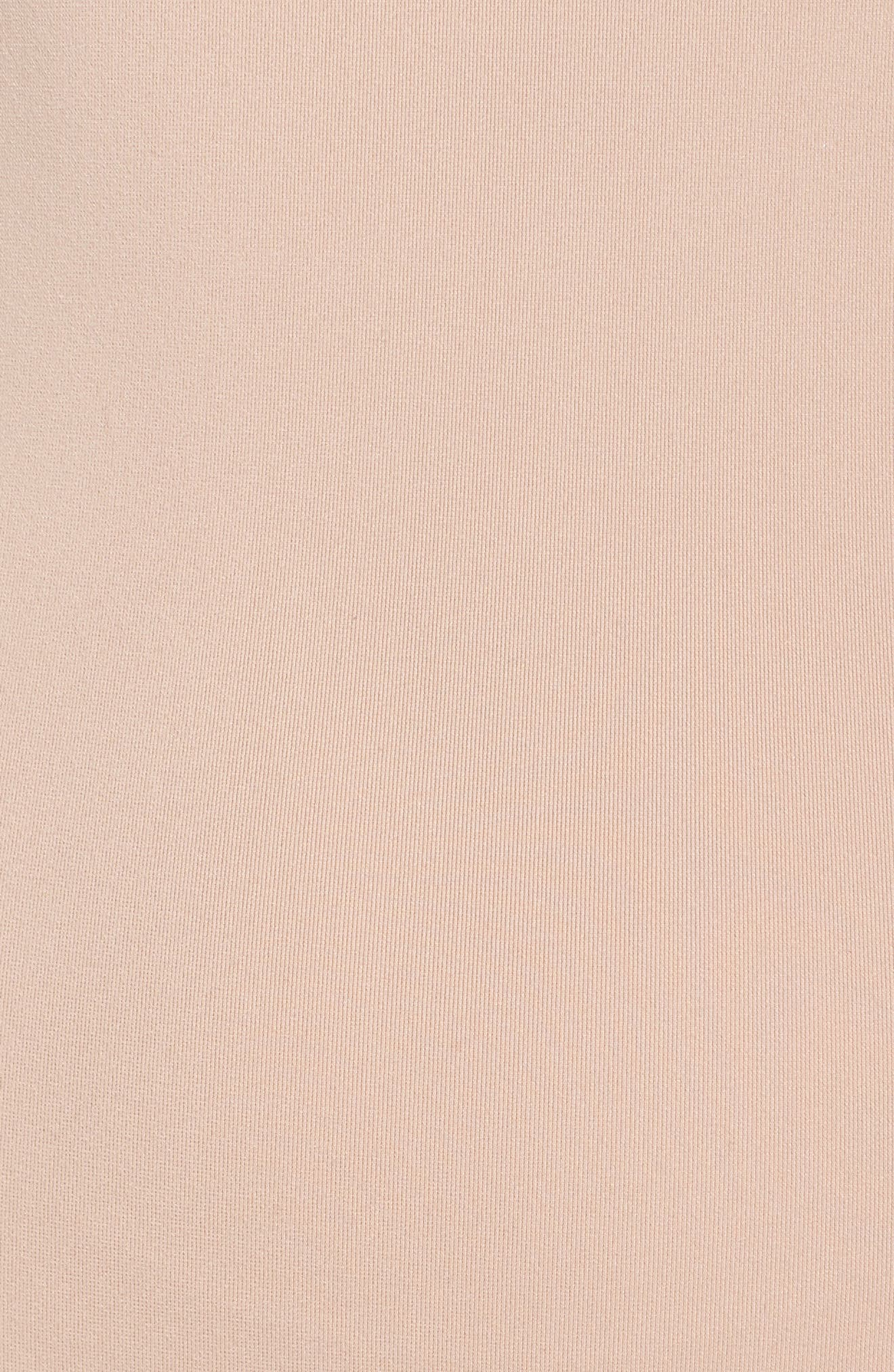 3-Stripes Bodysuit,                             Alternate thumbnail 6, color,                             Ash Pearl