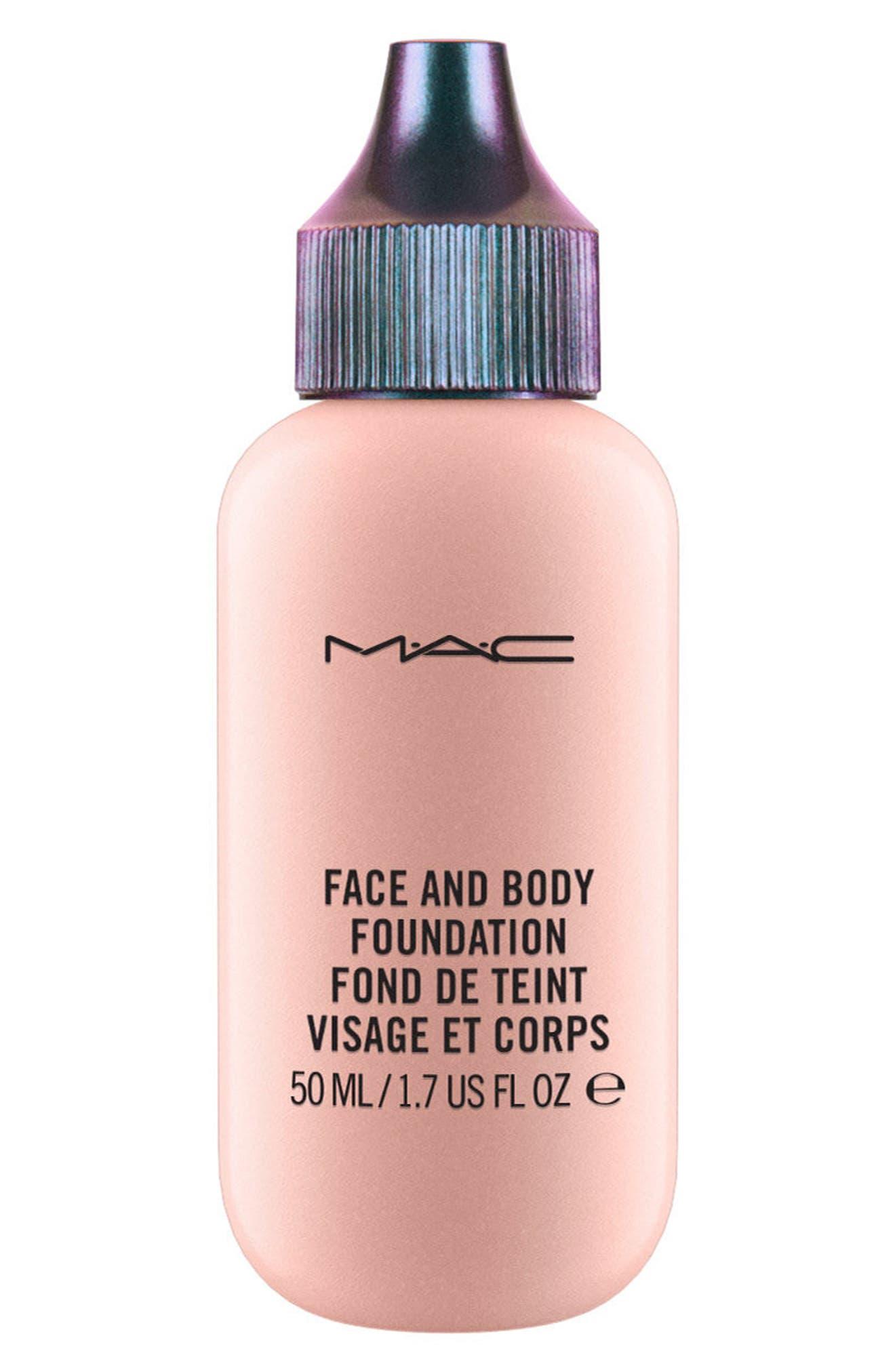MAC Mirage Noir Studio Face & Body Foundation,                             Main thumbnail 1, color,                             Light Pearl