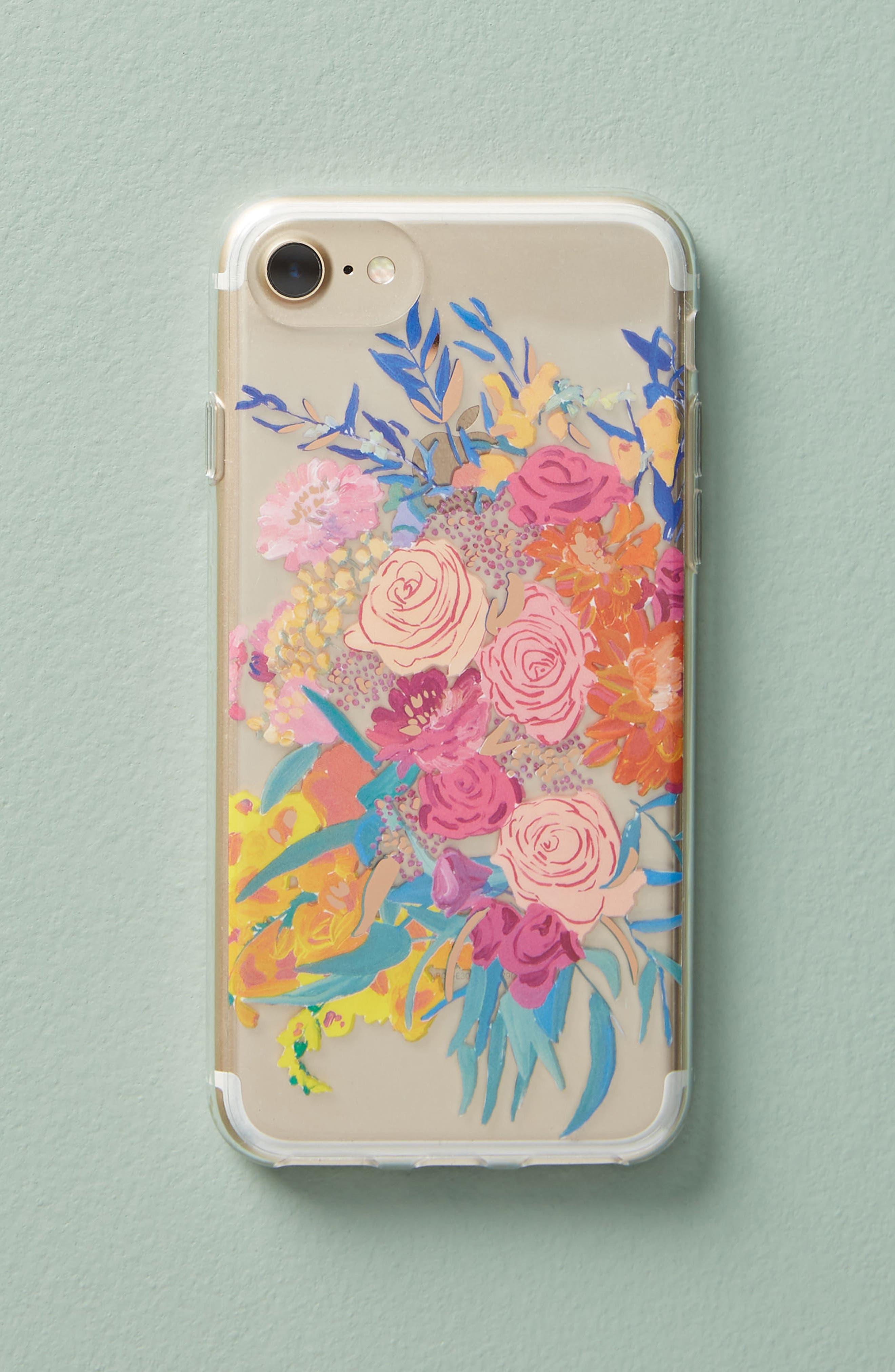 Bridgette Thornton iPhone 6/6s/7/8 Case,                             Main thumbnail 1, color,                             Pink