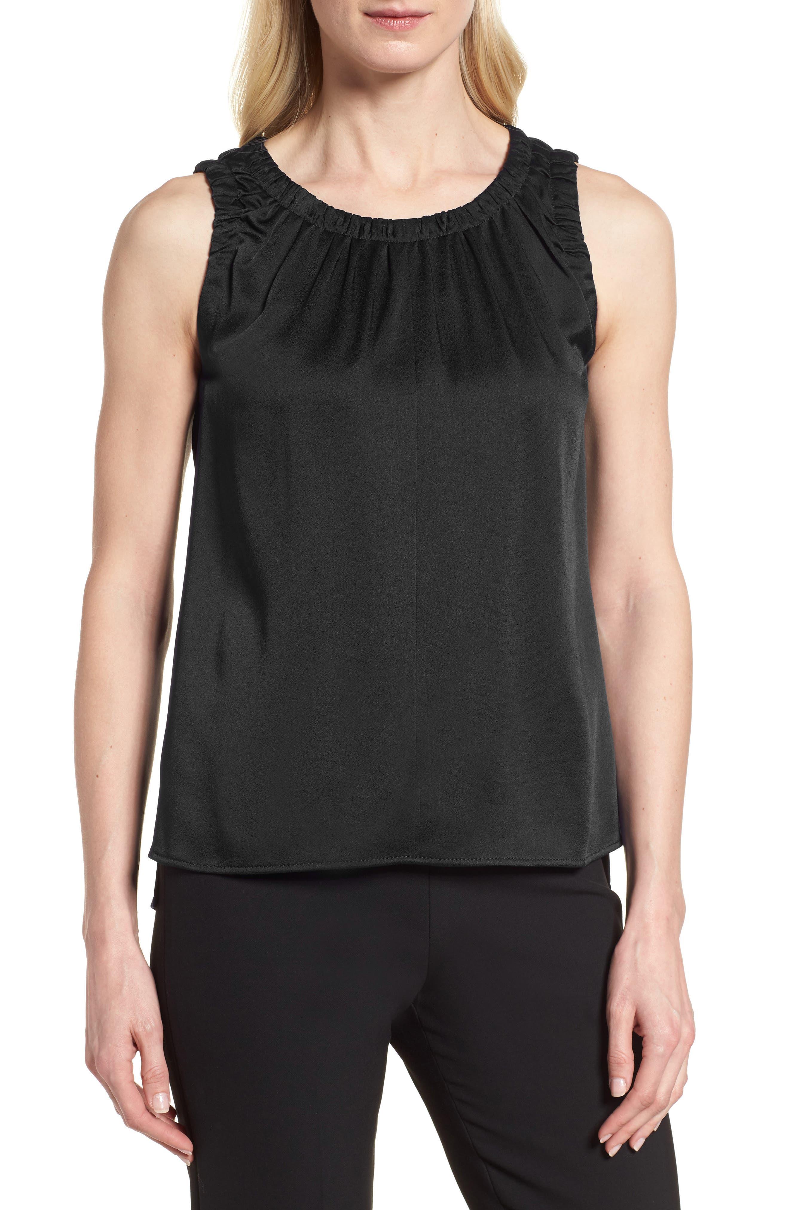 Ivanica Top,                         Main,                         color, Black