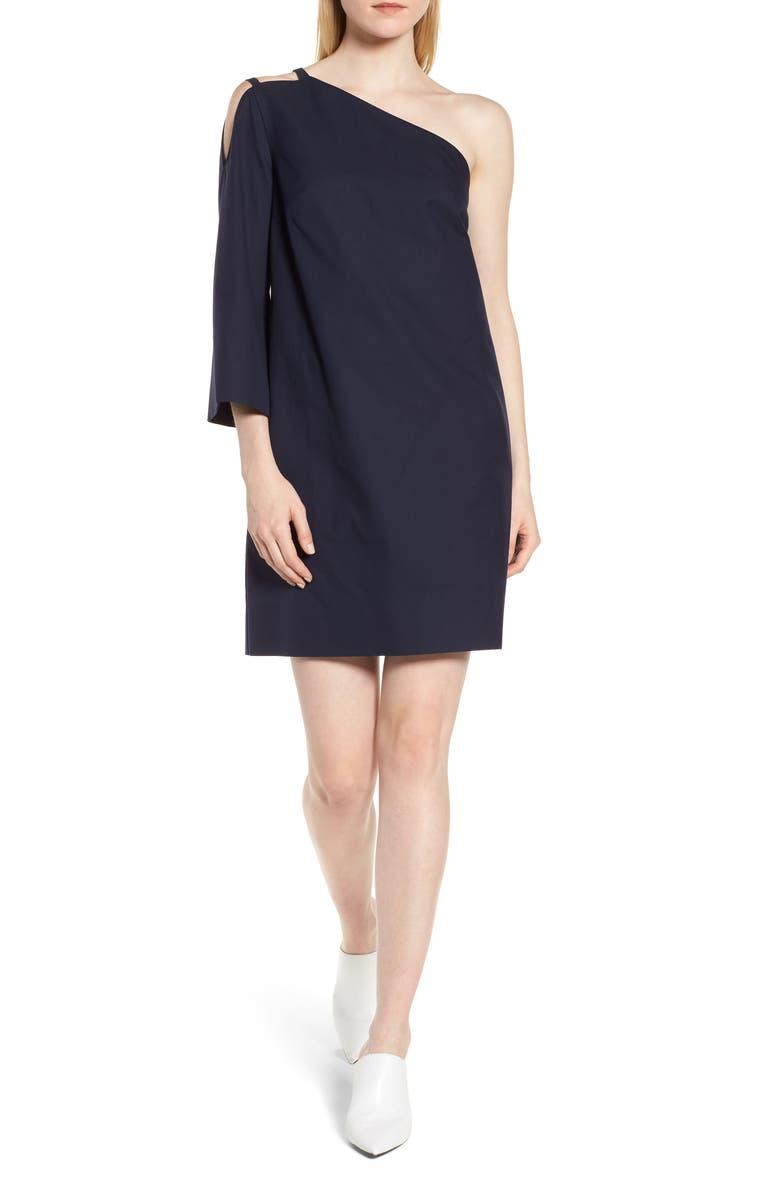One Shoulder Tunic Dress