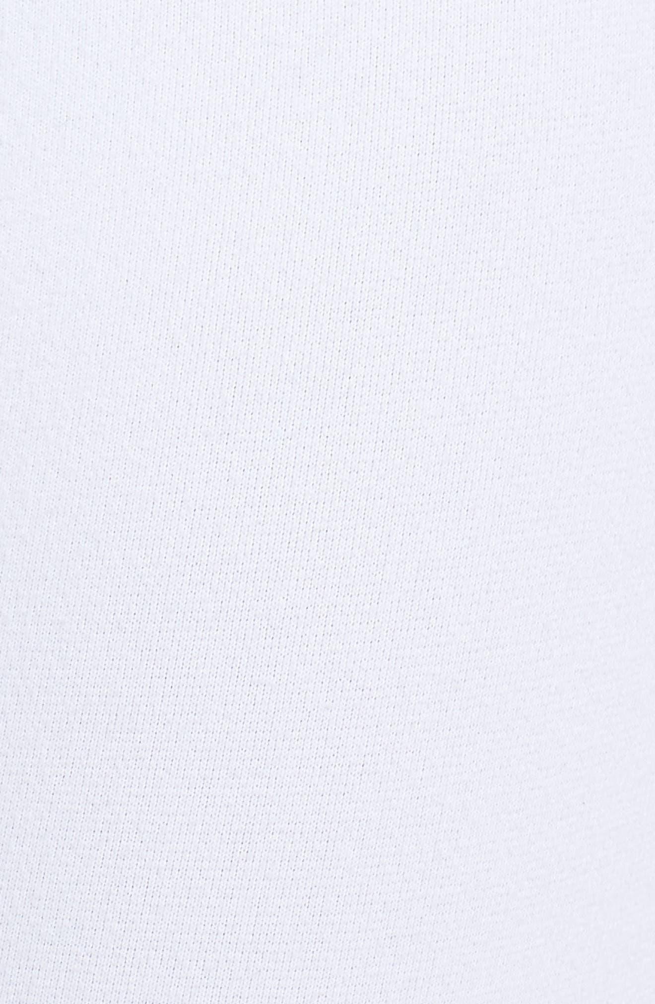 High Waist Leggings,                             Alternate thumbnail 6, color,                             White