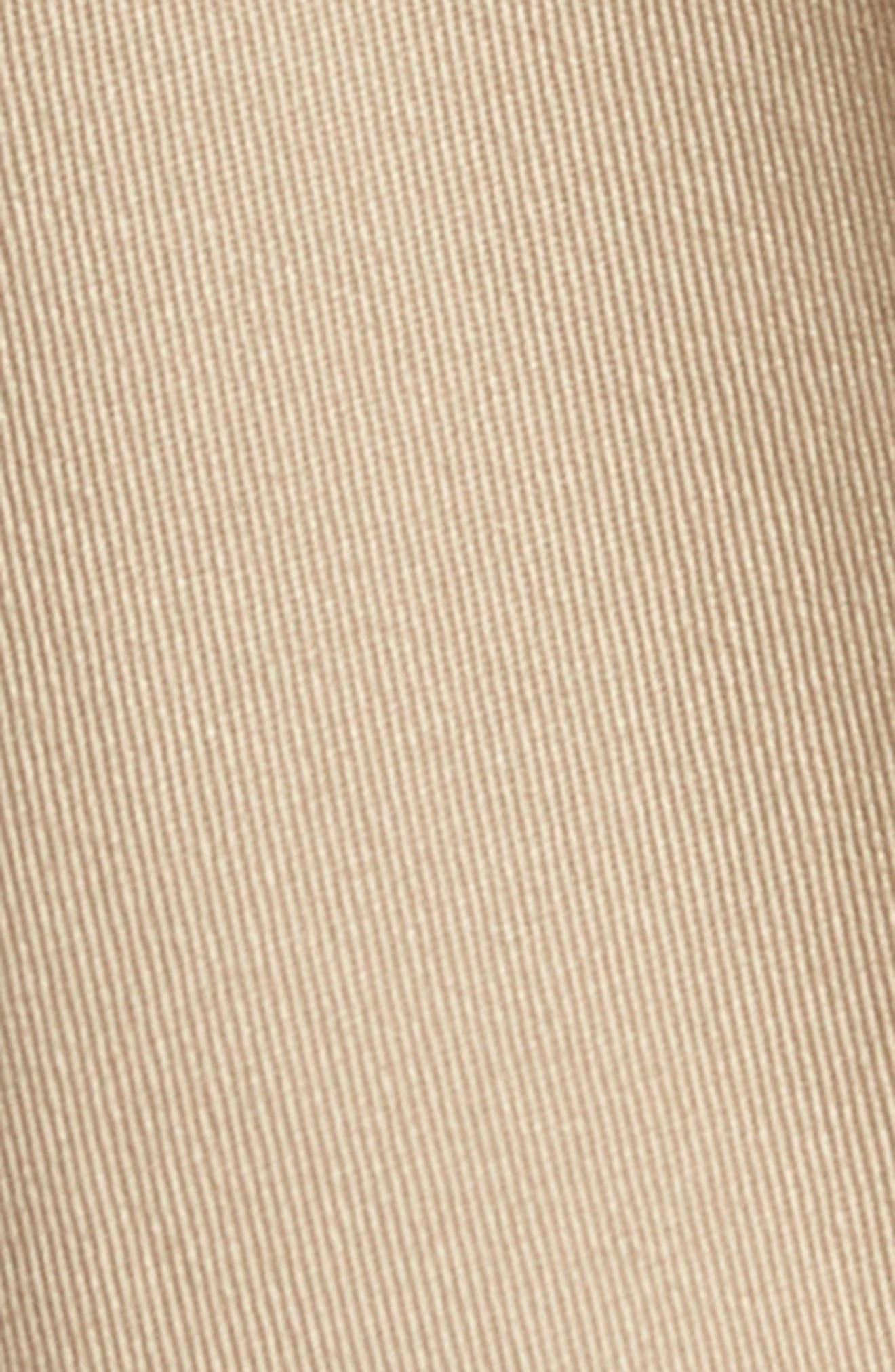 M2 Classic Fit Vintage Twill Flat Front Pants,                             Alternate thumbnail 5, color,                             Khaki