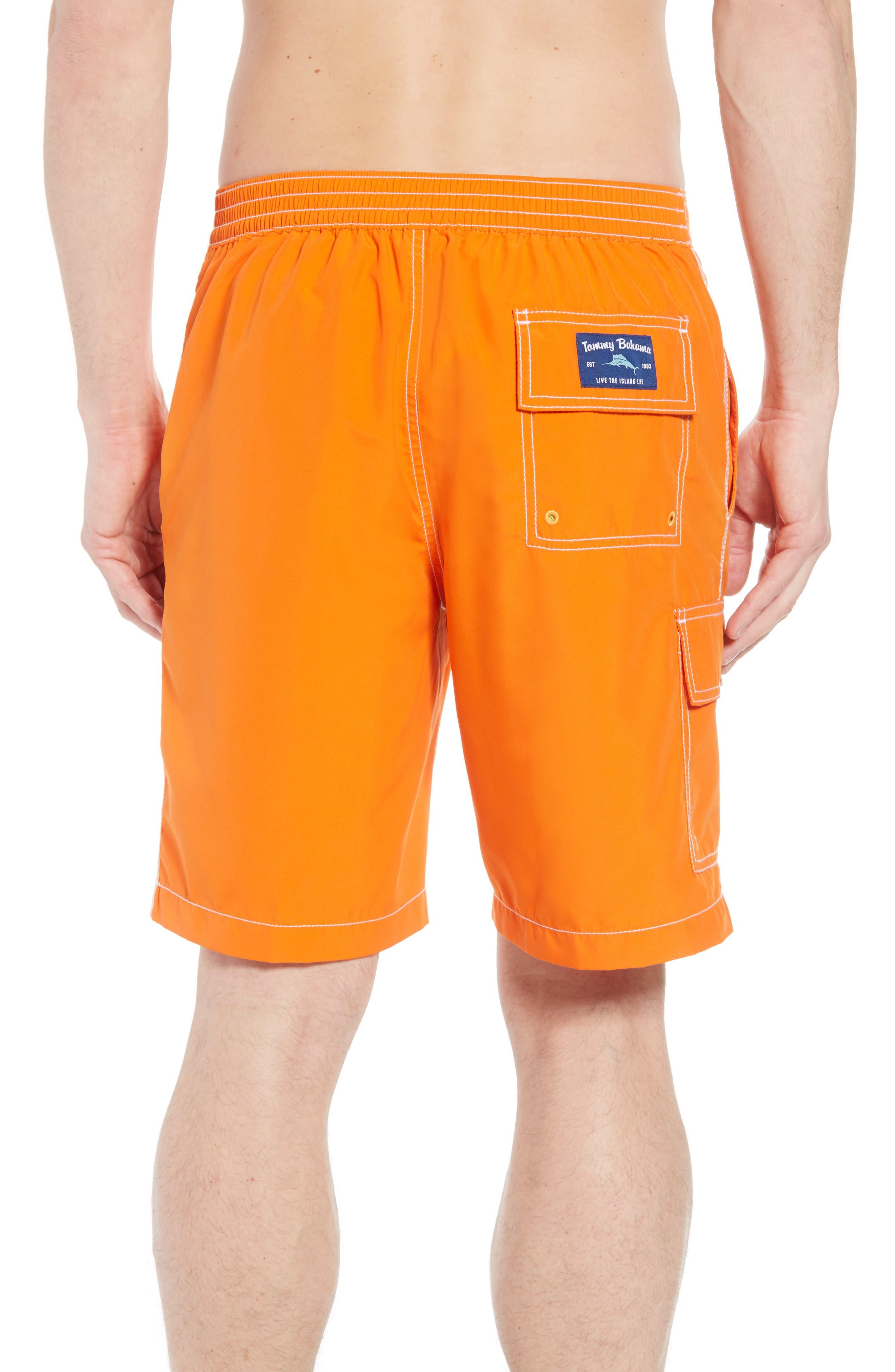 Baja Beach Board Shorts,                             Alternate thumbnail 2, color,                             Curuba