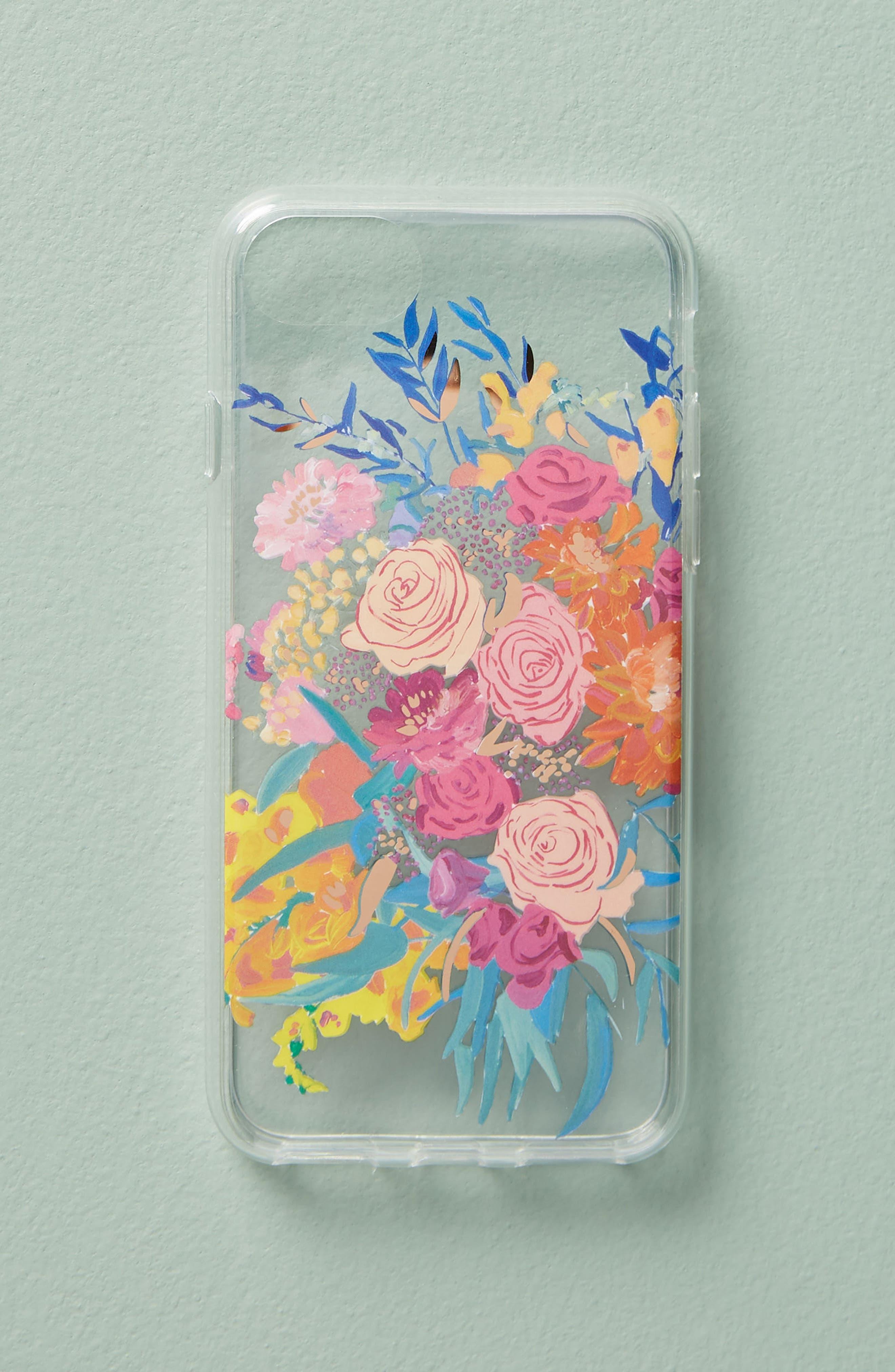 Bridgette Thornton iPhone 6/6s/7/8 Case,                             Alternate thumbnail 3, color,                             Pink