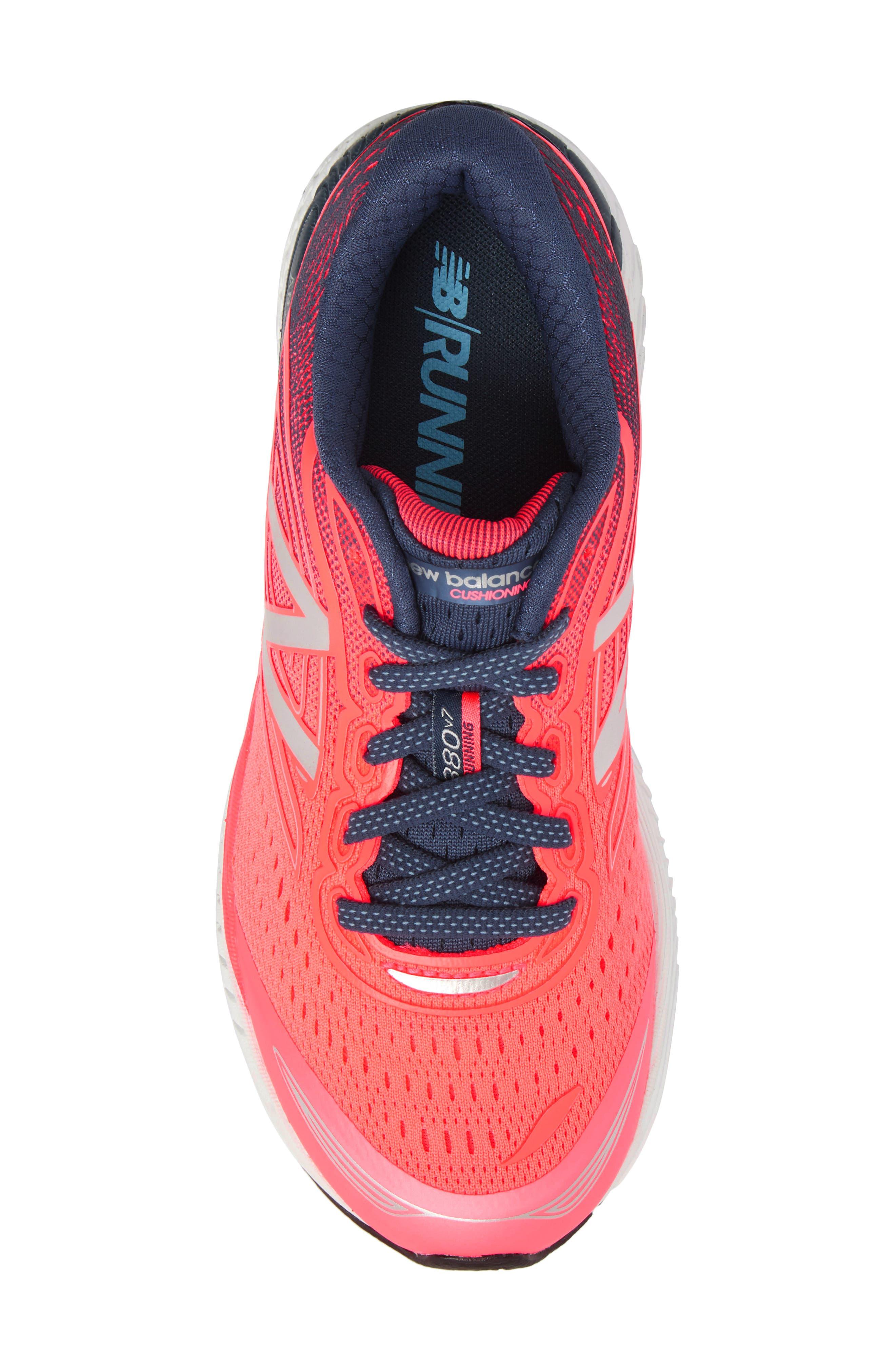 880v7 Sneaker,                             Alternate thumbnail 5, color,                             Guava