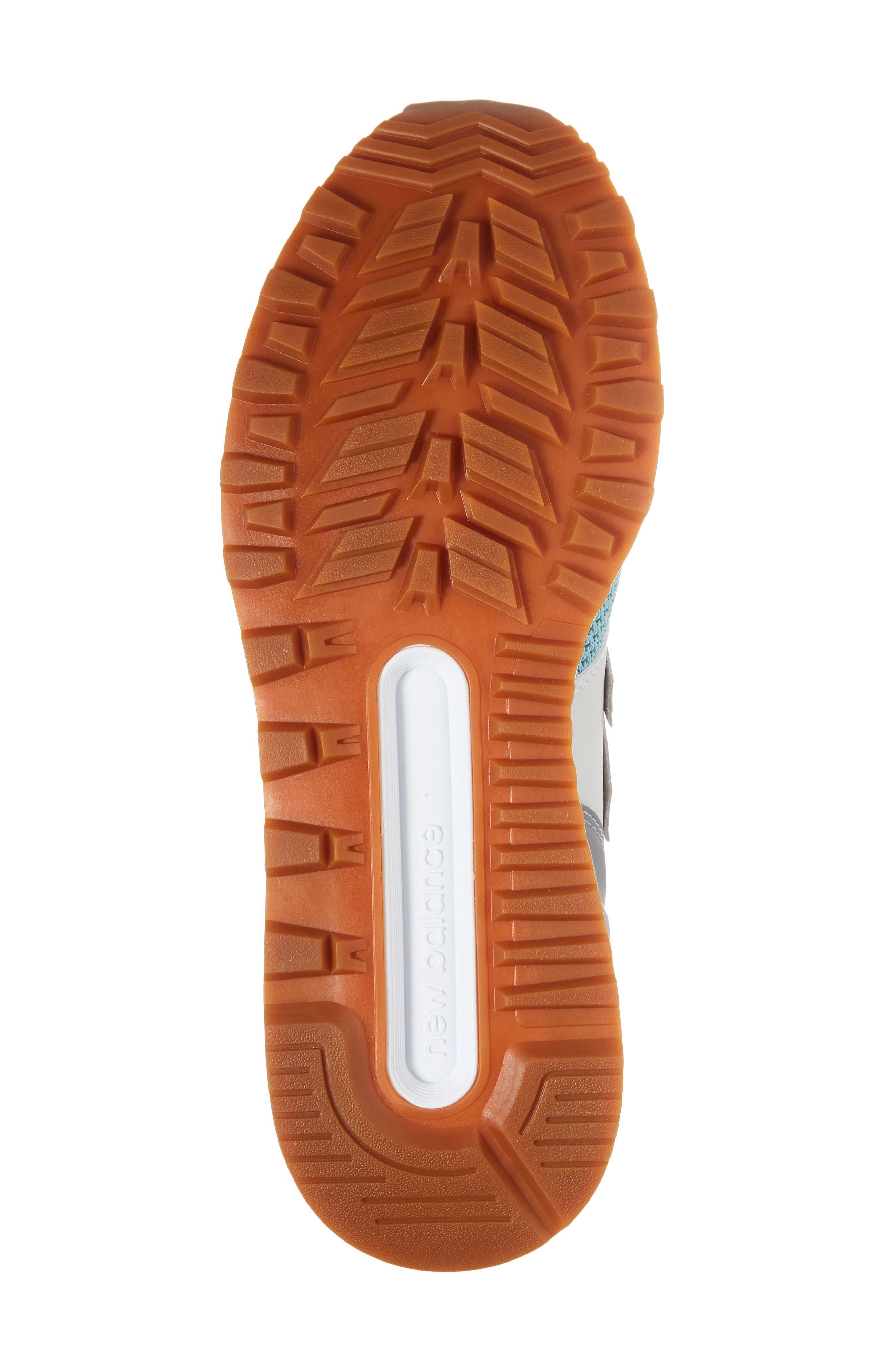 574 Fresh Foam Sport Sneaker,                             Alternate thumbnail 6, color,                             Gunmetal