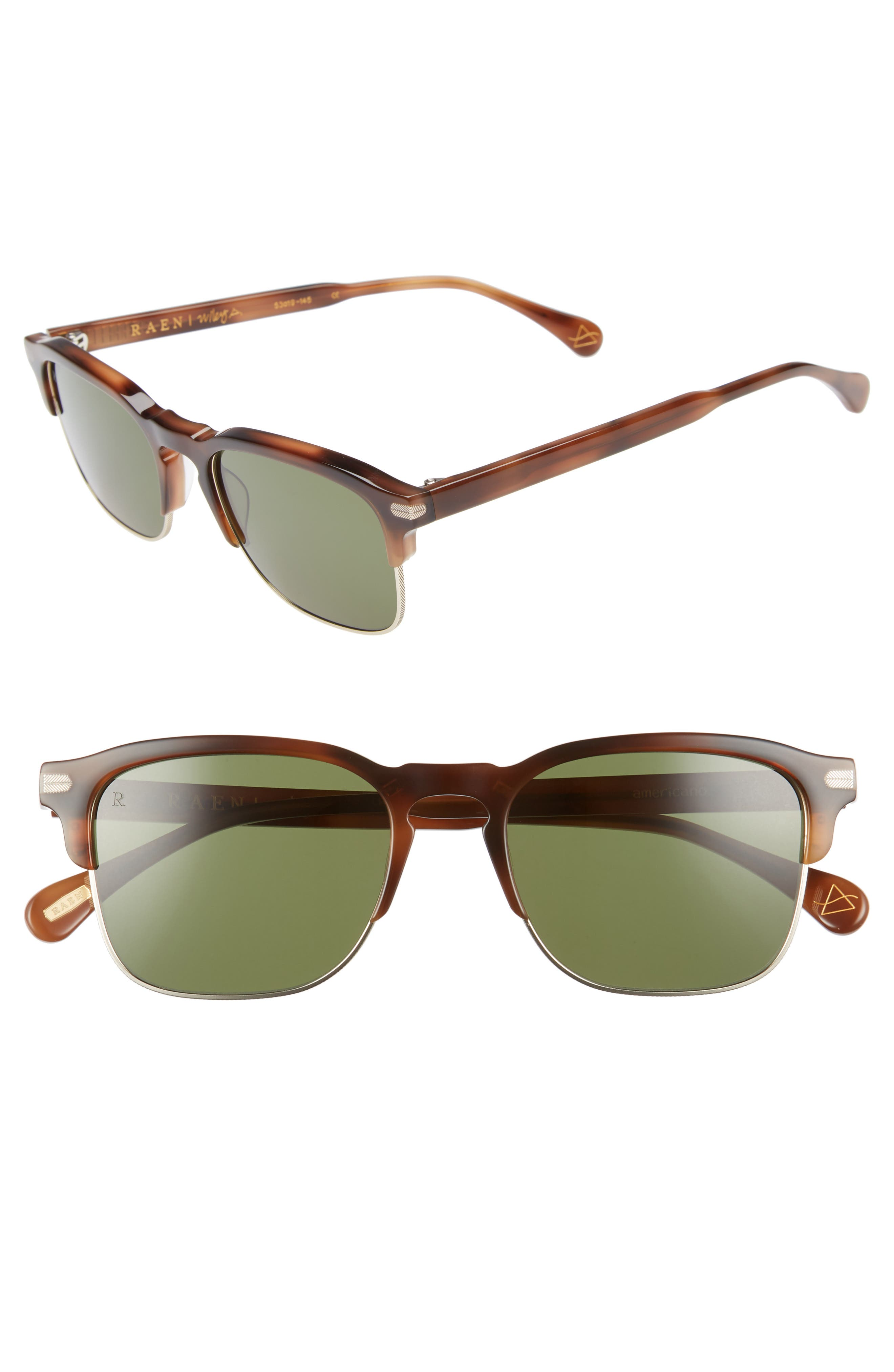 7fe1ec6273 Raen Wiley A 53Mm Polarized Sunglasses - Brindle Tortoise ...