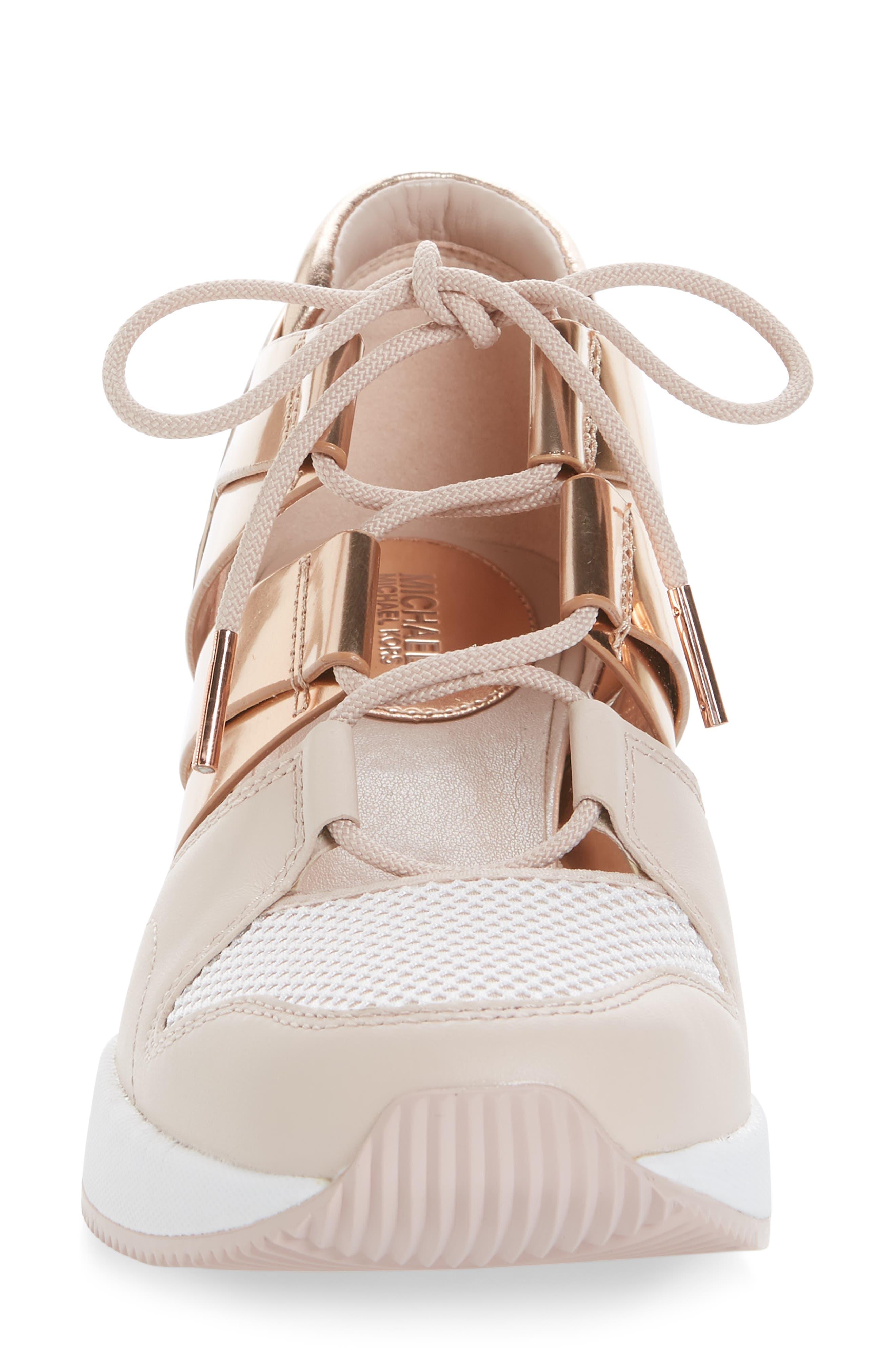 Beckett Sneaker,                             Alternate thumbnail 4, color,                             Gold