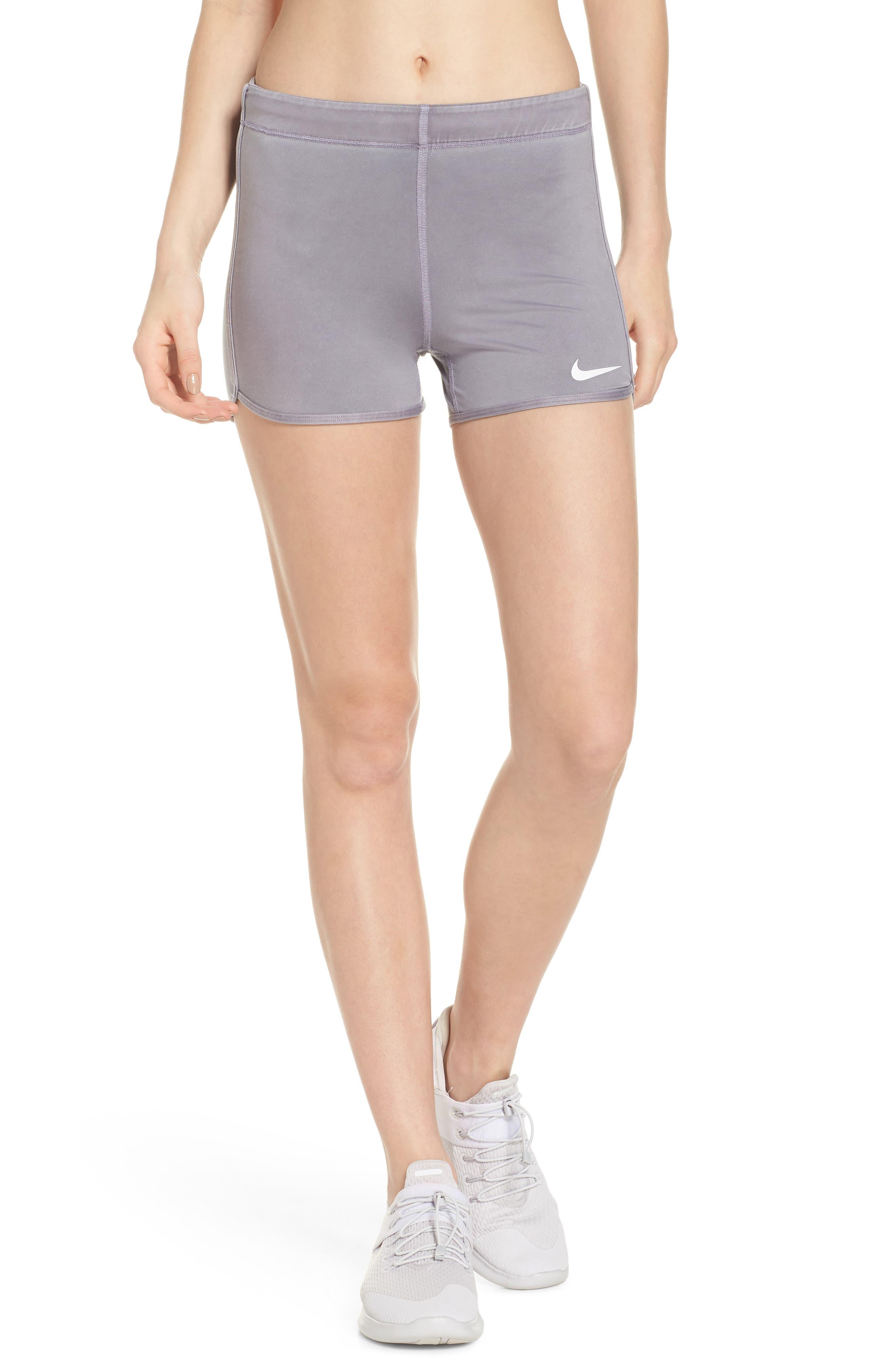 Pro Vintage Shorts,                         Main,                         color, Dark Grey/ White