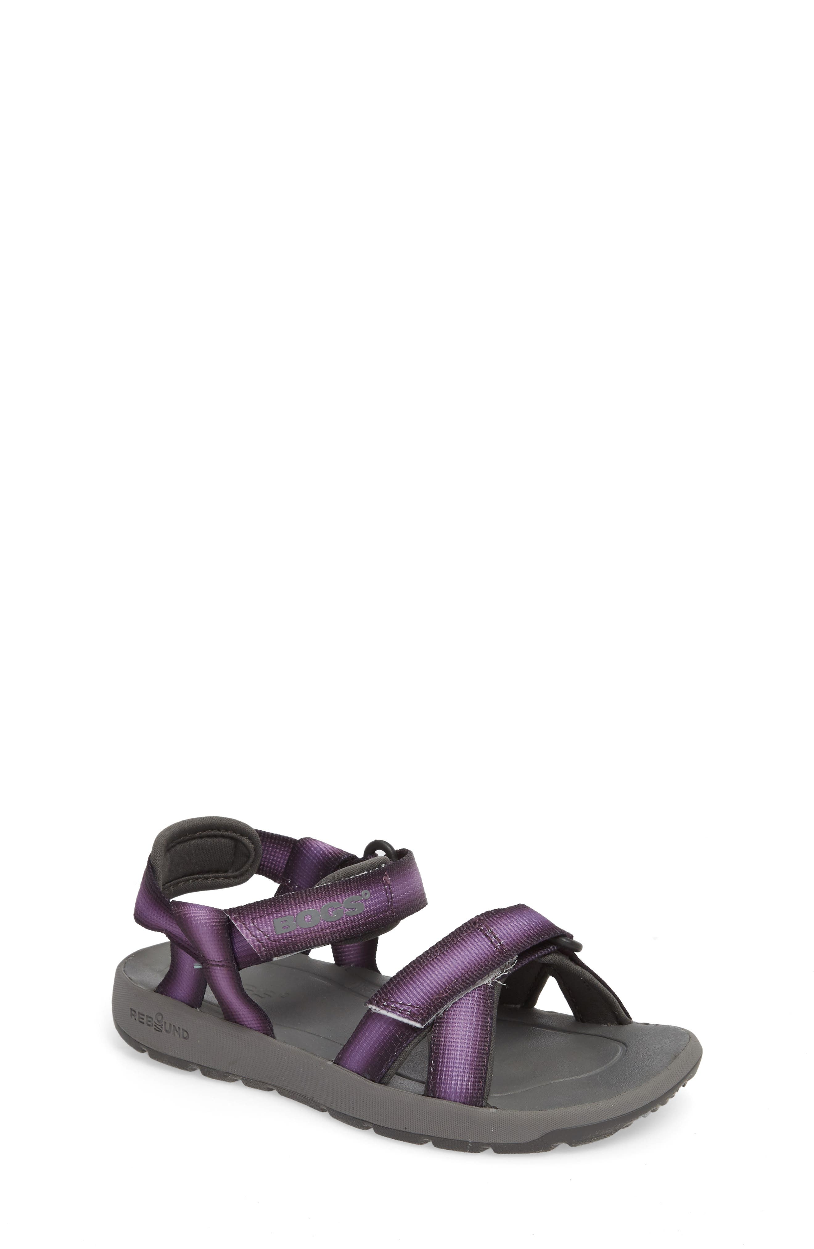 Bogs Rio Sunrise Stripe Sandal (Toddler, Little Kid & Big Kid)