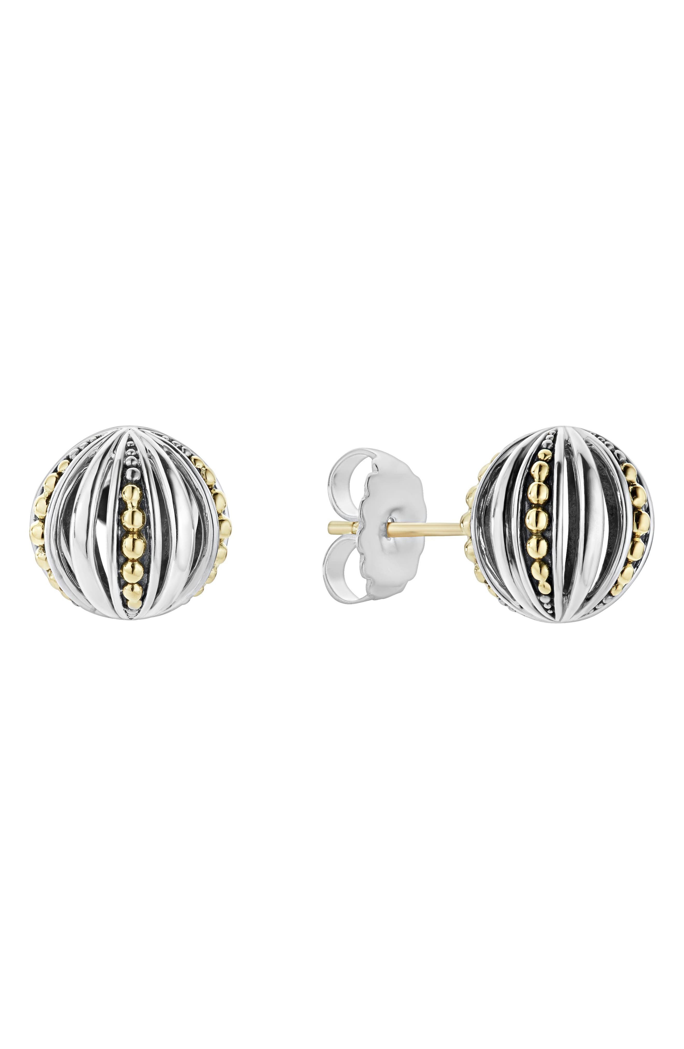 LAGOS Signature Gifts Beaded Ball Stud Earring
