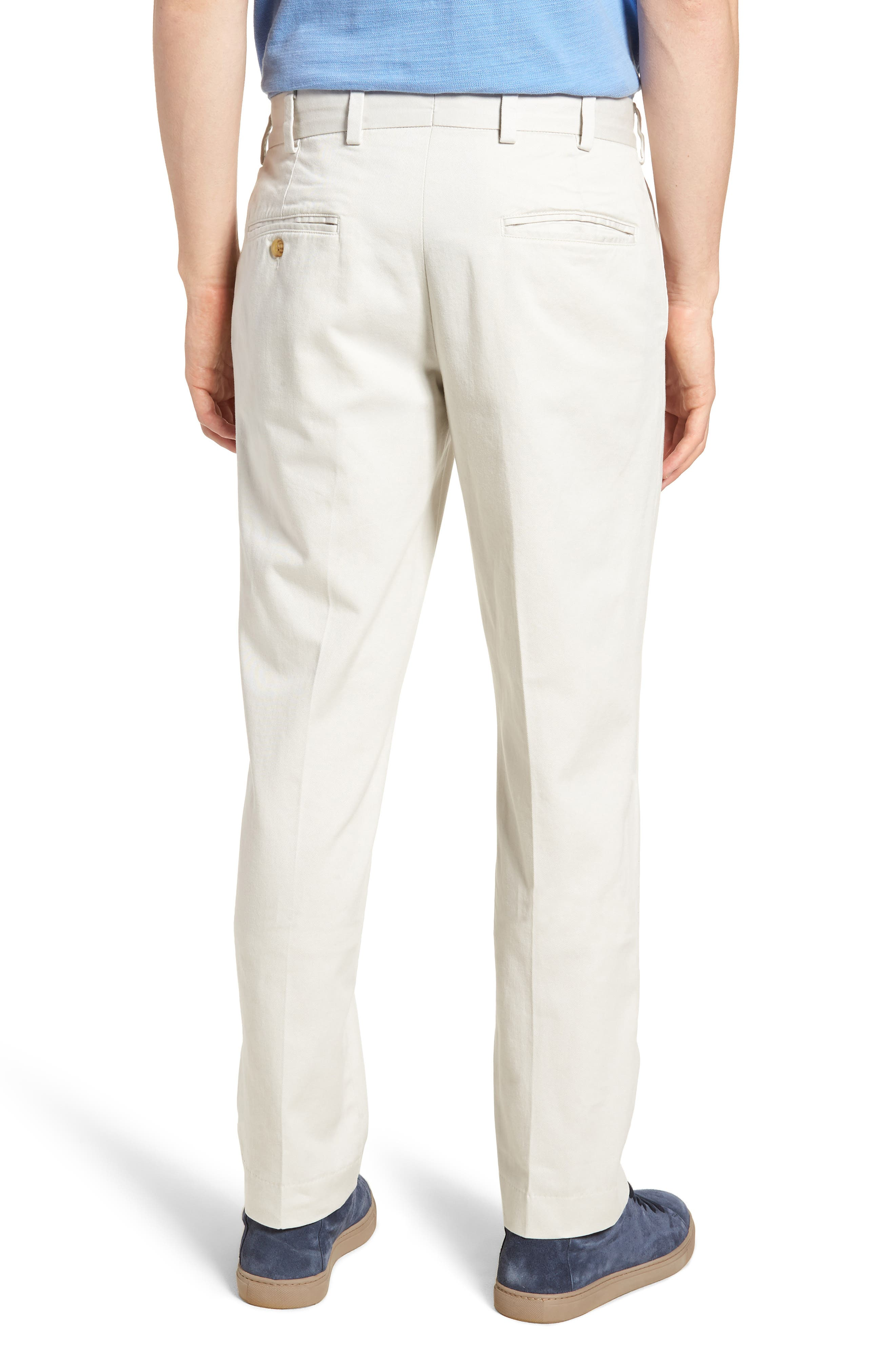 M3 Straight Fit Flat Front Vintage Twill Pants,                             Alternate thumbnail 2, color,                             Stone