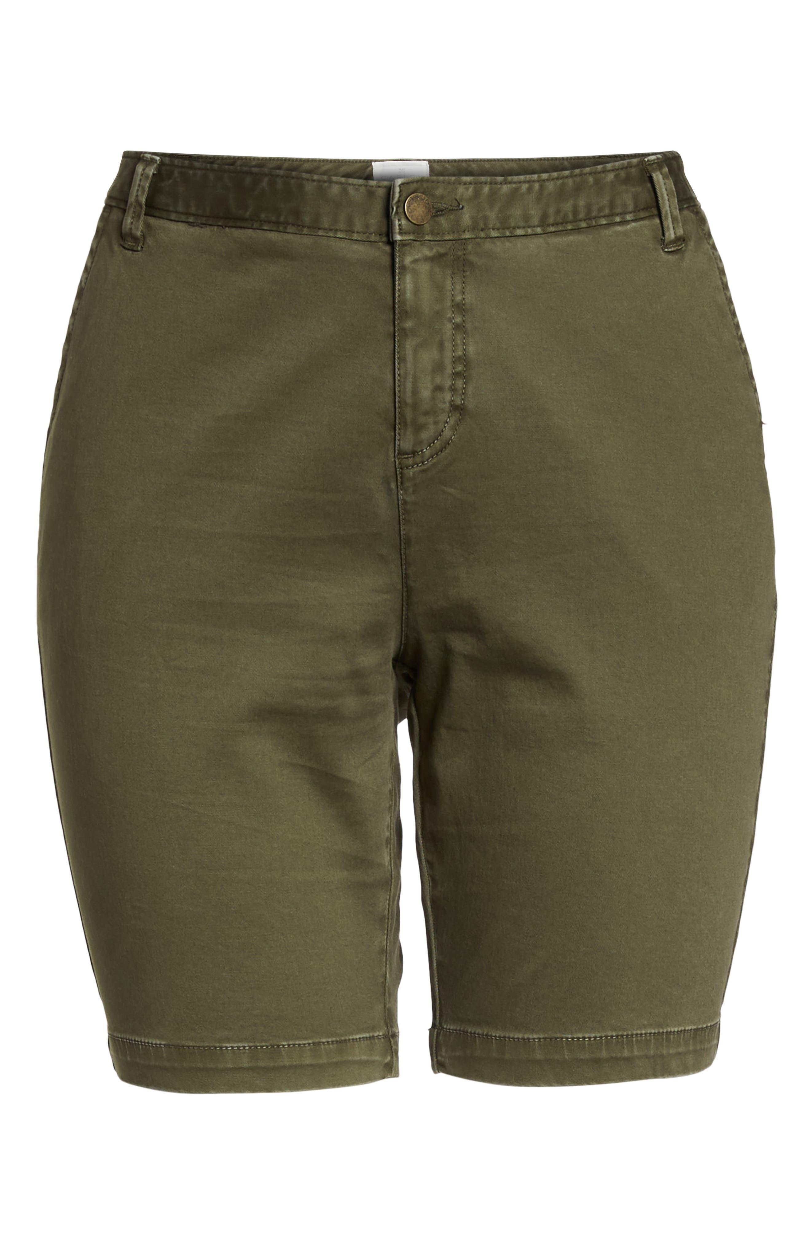 Twill Shorts,                             Alternate thumbnail 7, color,                             Olive Sarma