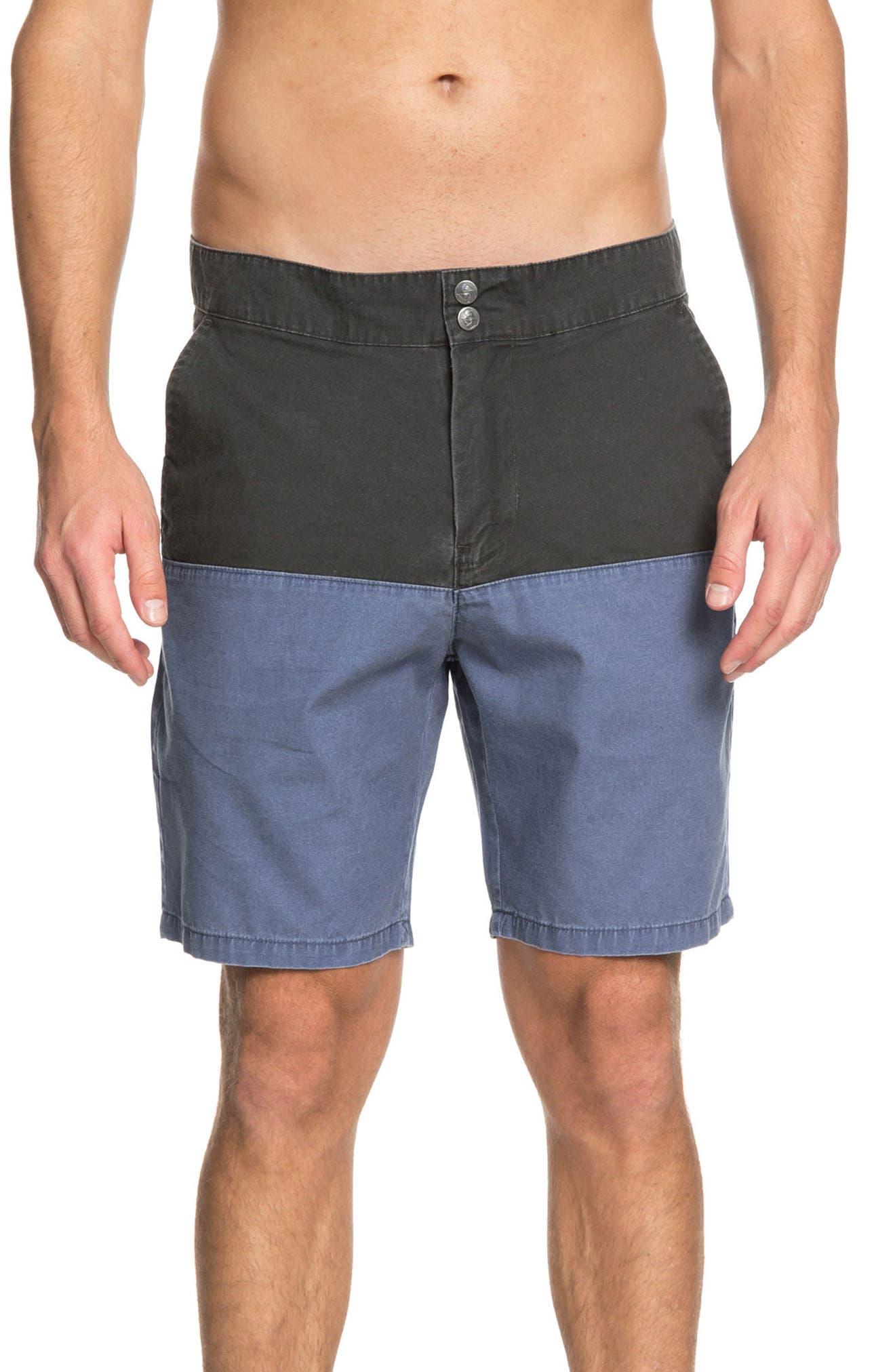 Mad Wax Block Shorts,                         Main,                         color, Tarmac