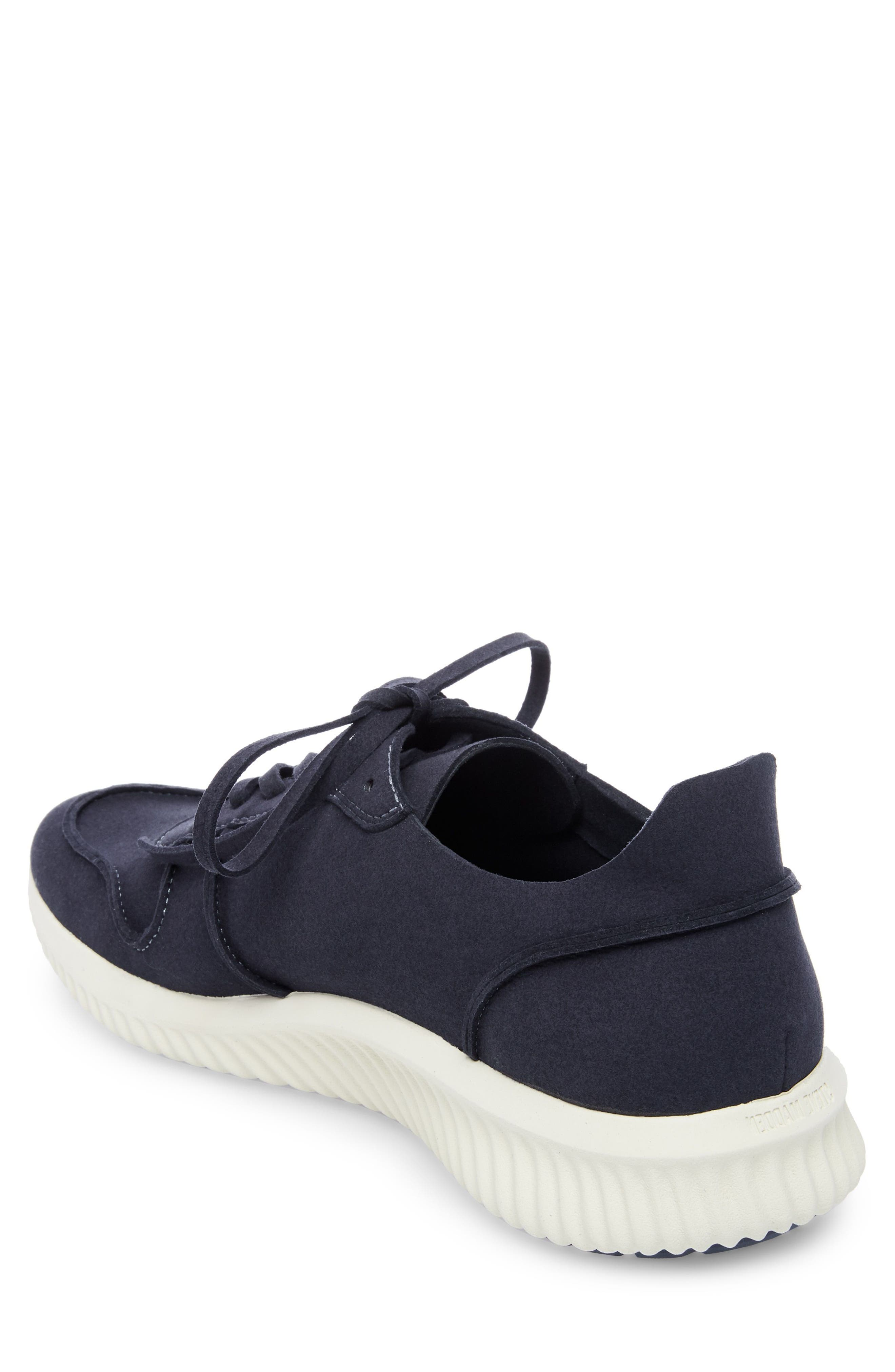 Rolf Low Top Sneaker,                             Alternate thumbnail 2, color,                             Navy Leather