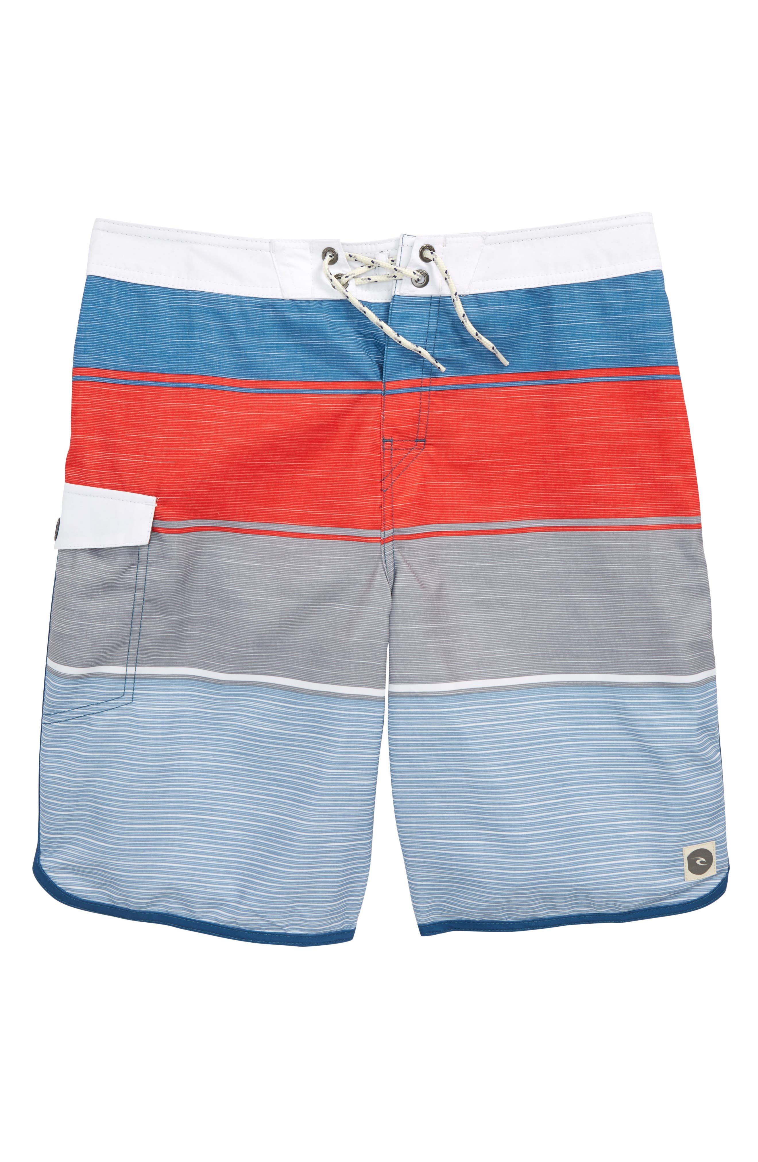 Good Times Board Shorts,                         Main,                         color, Red