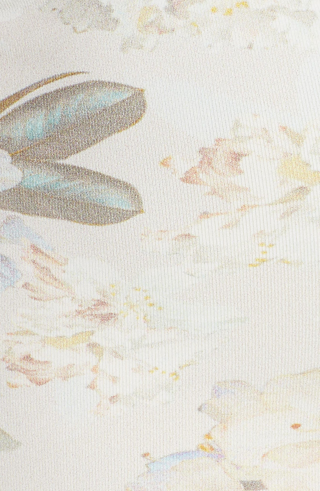 Sandrita Bikini Top,                             Alternate thumbnail 5, color,                             Ete Floral White