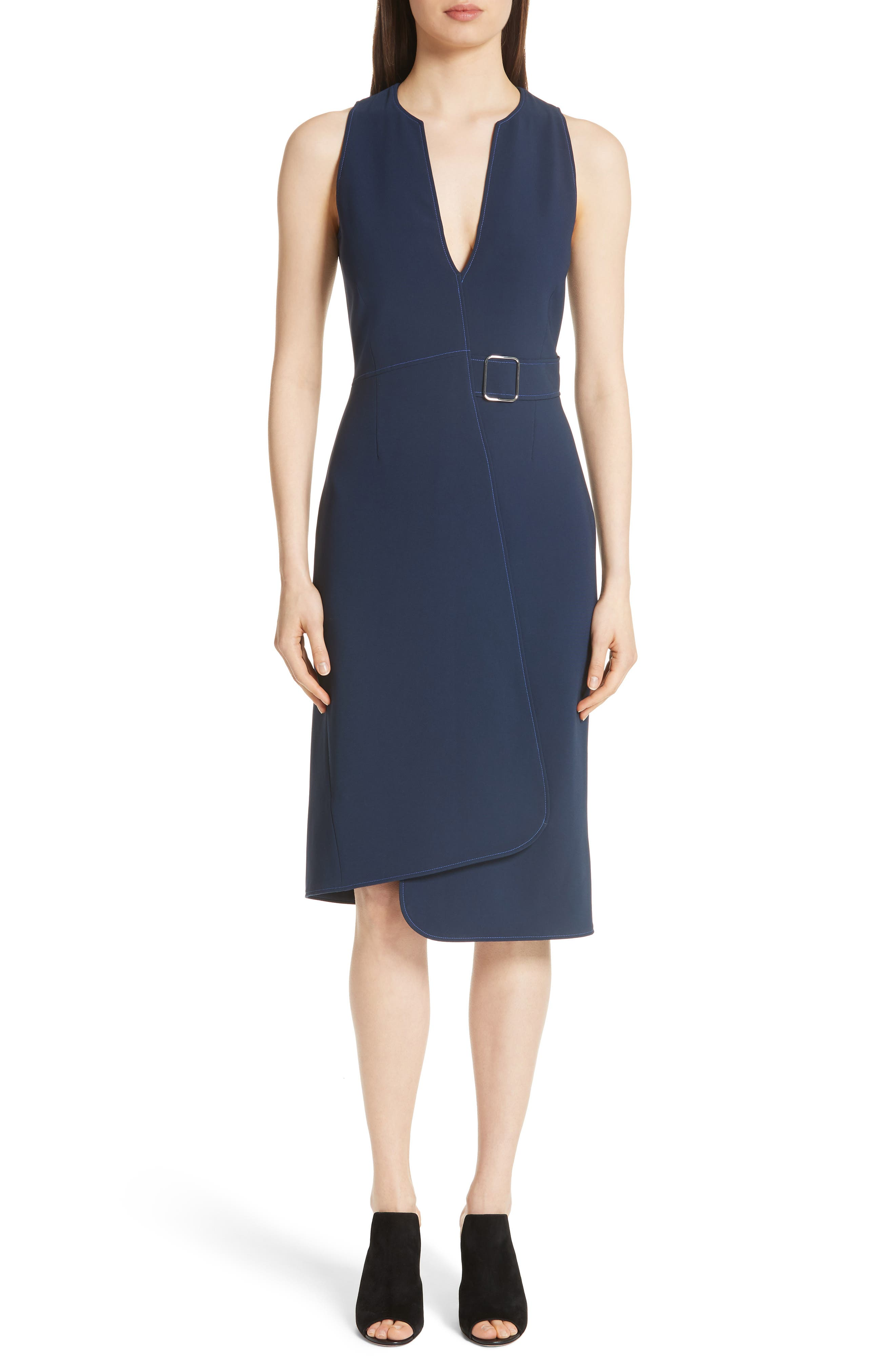 Main Image - Altuzarra Asymmetrical Belted Dress