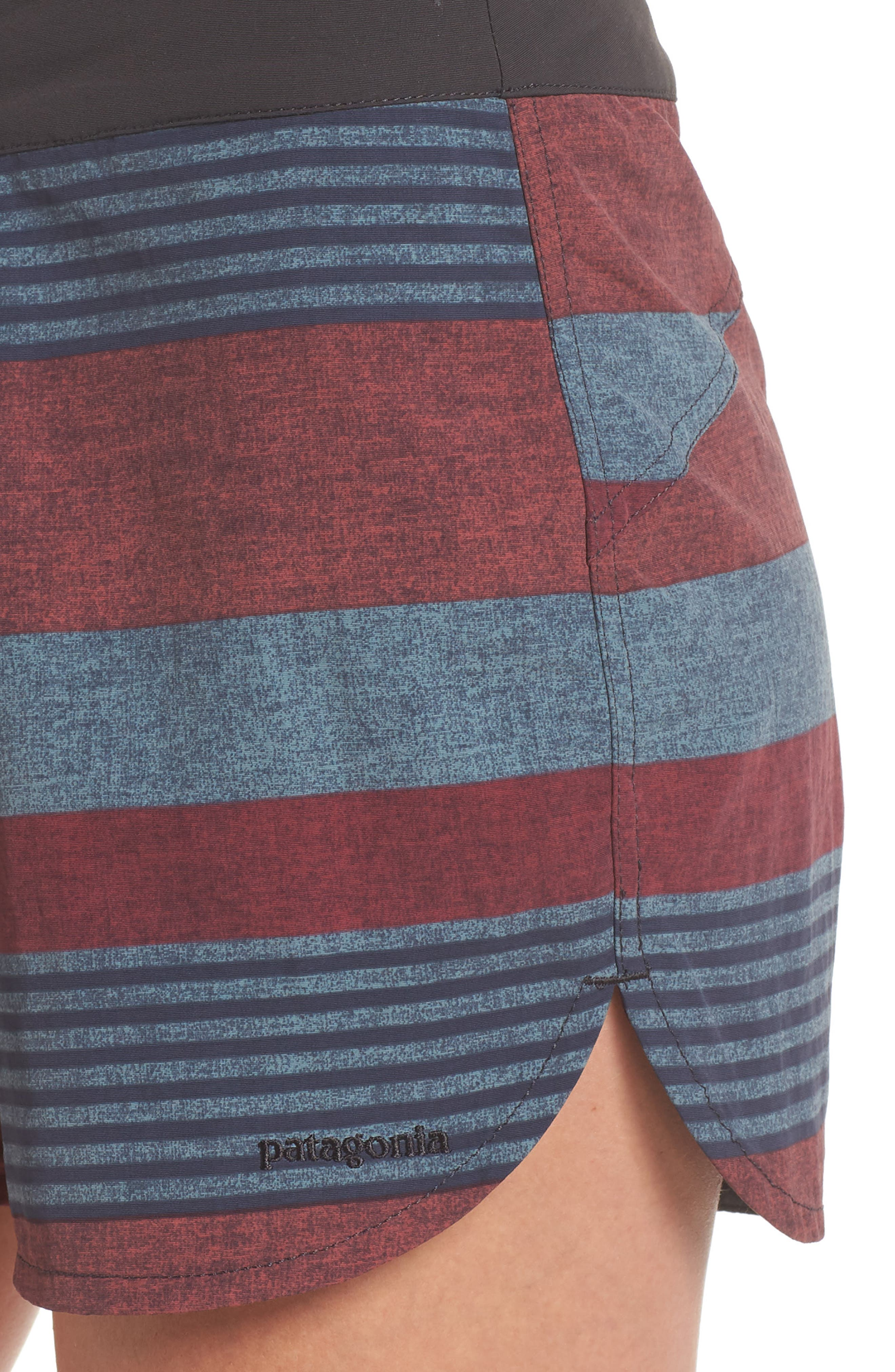 Wavefarer Board Shorts,                             Alternate thumbnail 4, color,                             Fitz Stripe: Kiln Pink