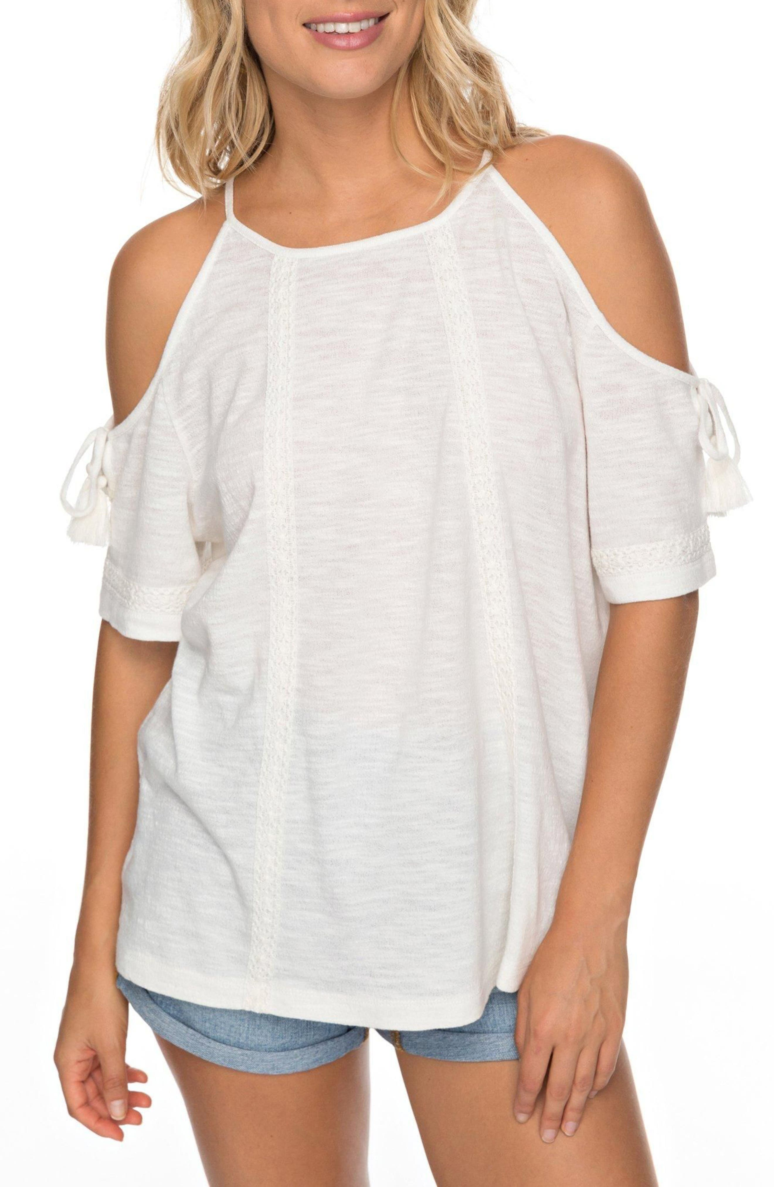 Roxy Hills of Love Cold Shoulder Top