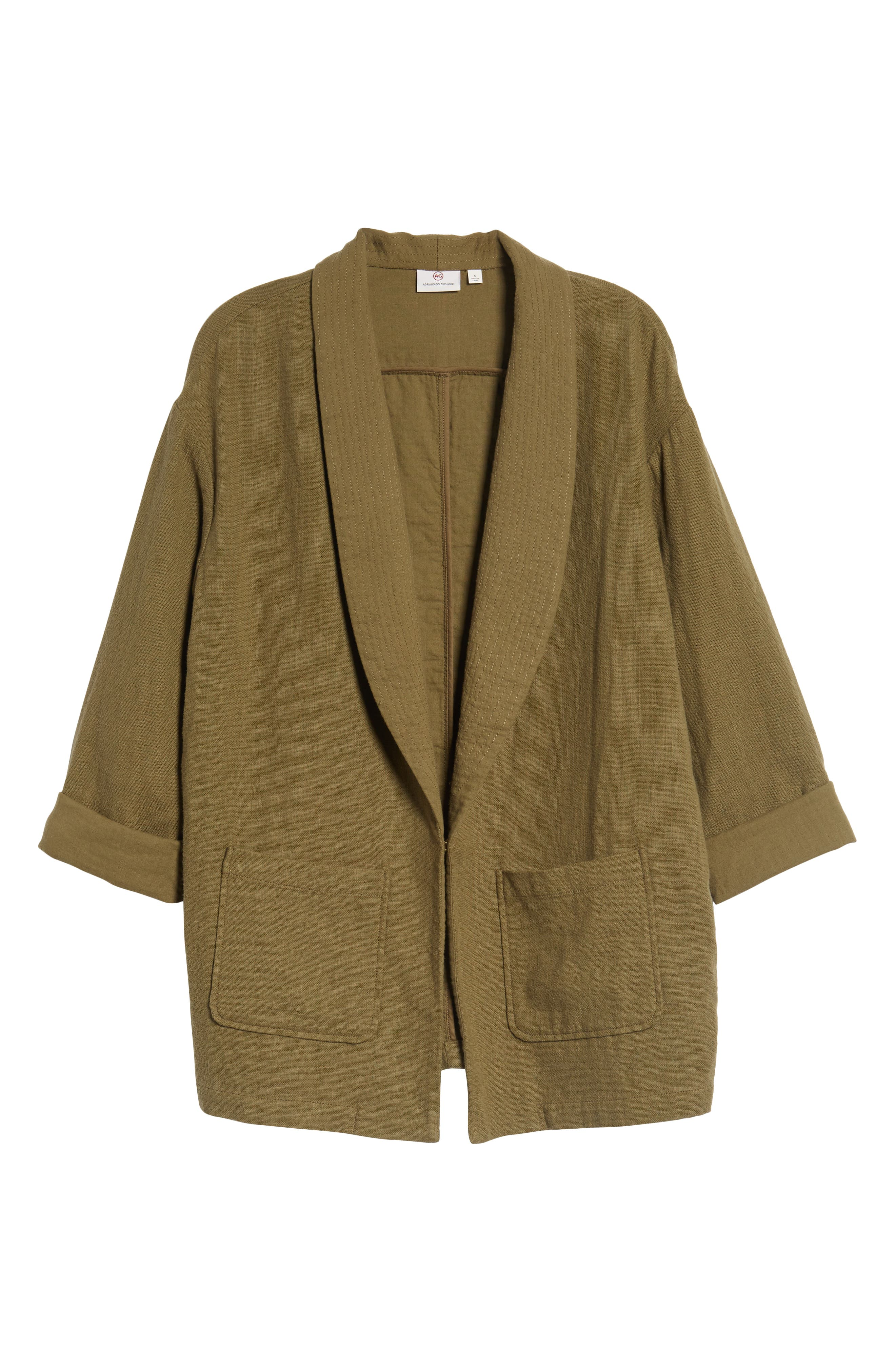 Maura Jacket,                             Alternate thumbnail 7, color,                             Olive Grove
