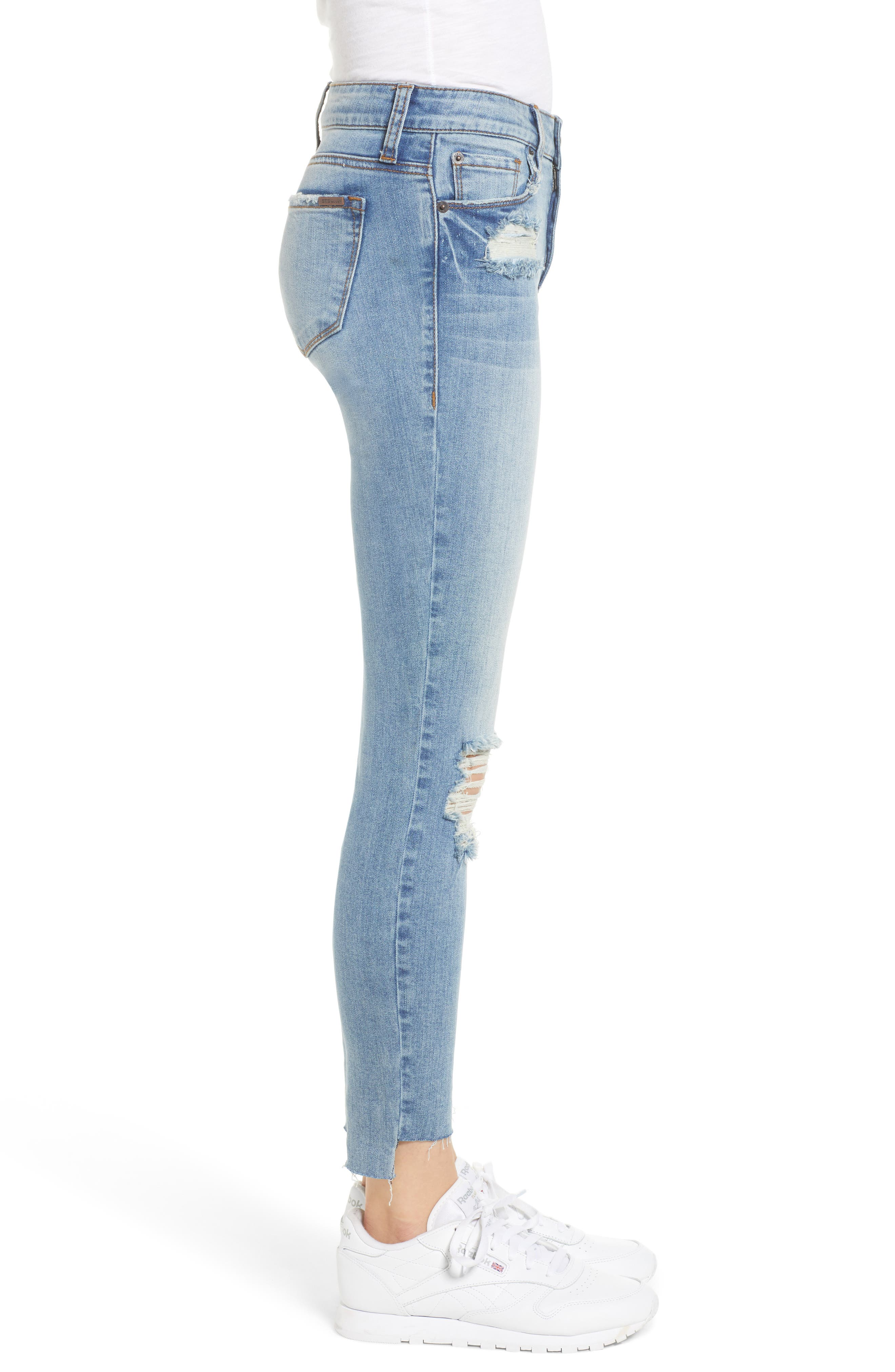 STS Blue Emma Ripped Ankle Skinny Jeans,                             Alternate thumbnail 3, color,                             Nortan W/ Lt Base