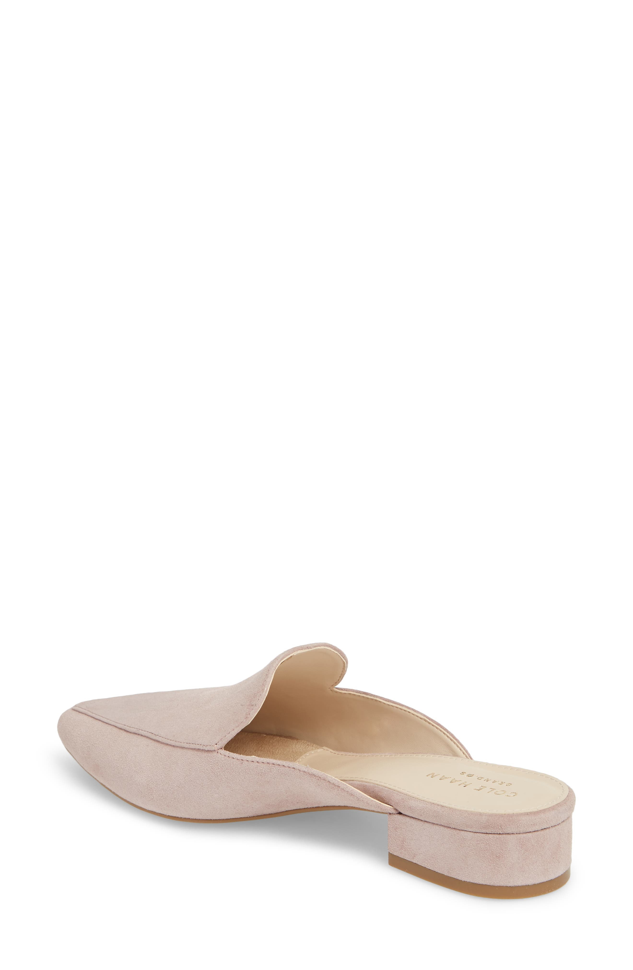 Piper Loafer Mule,                             Alternate thumbnail 2, color,                             Twilight Mauve Suede