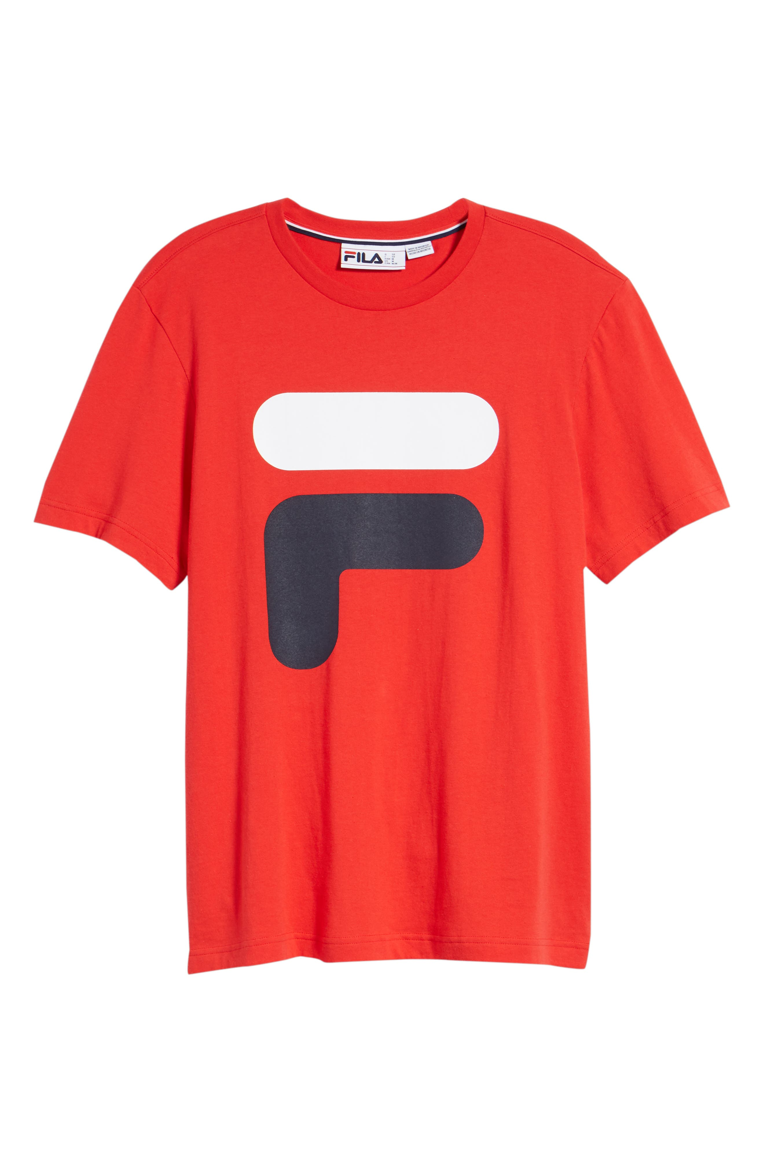 Floating F T-Shirt,                             Alternate thumbnail 6, color,                             Chinese Red