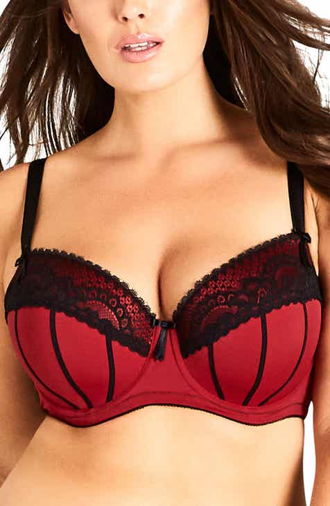 518e05ff48198 City Chic Georgia Contour Underwire Bra (Plus Size)