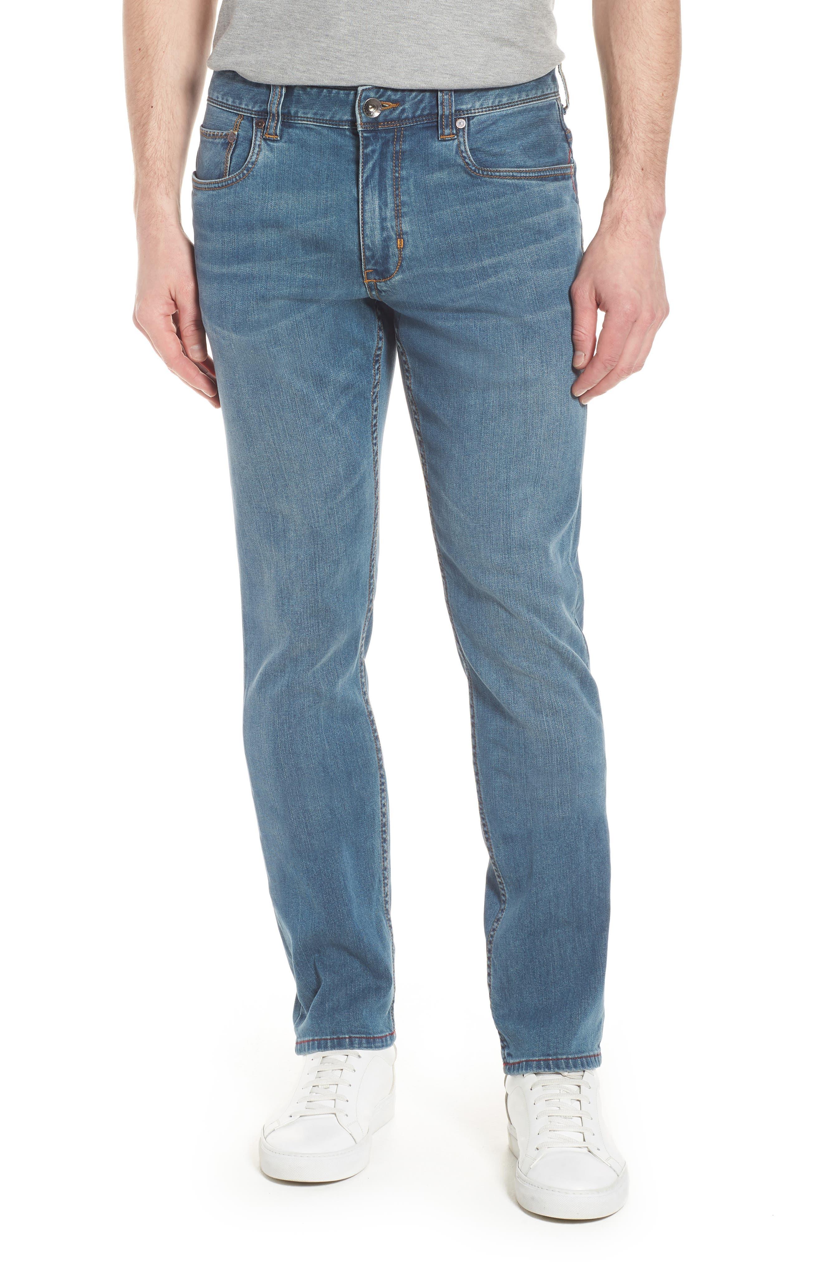 Vintage Fit Jeans,                             Main thumbnail 1, color,                             Vintage Wash