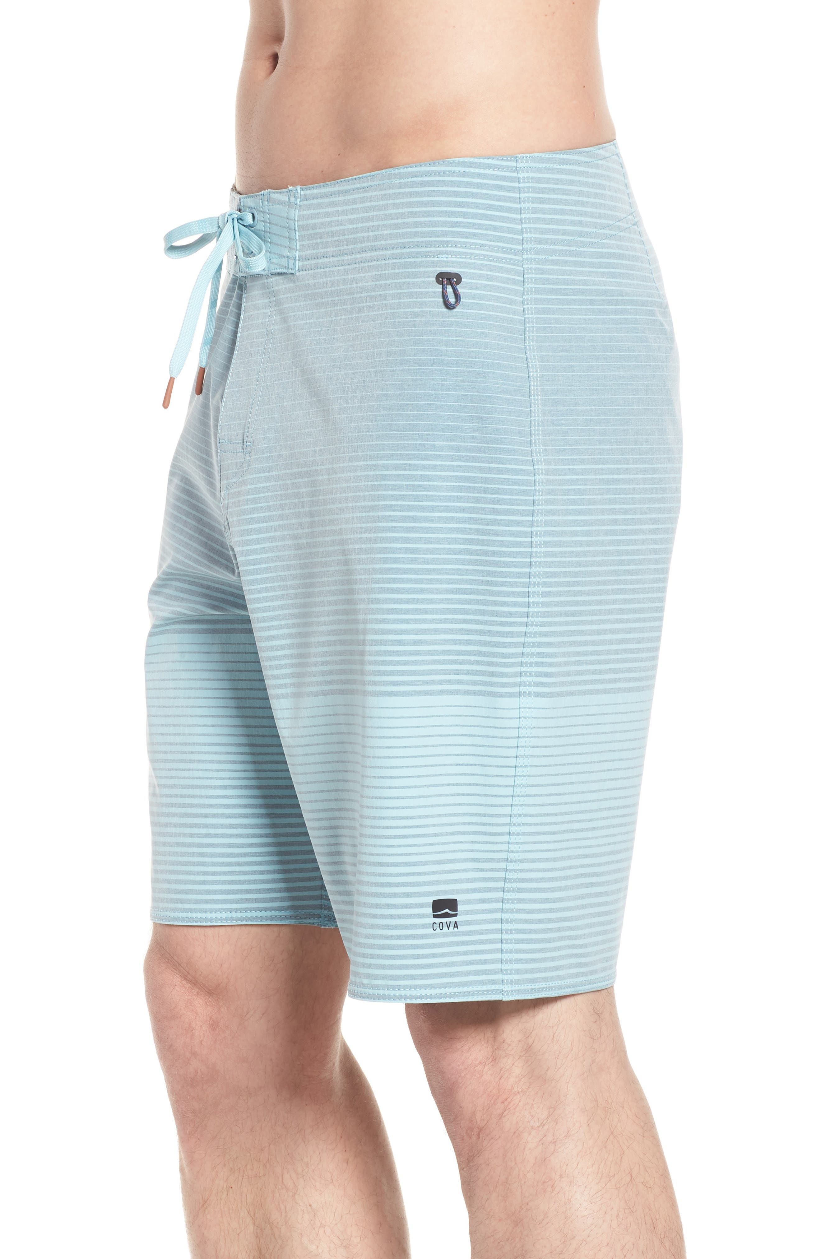 Water Level Board Shorts,                             Alternate thumbnail 4, color,                             Harbour Blue
