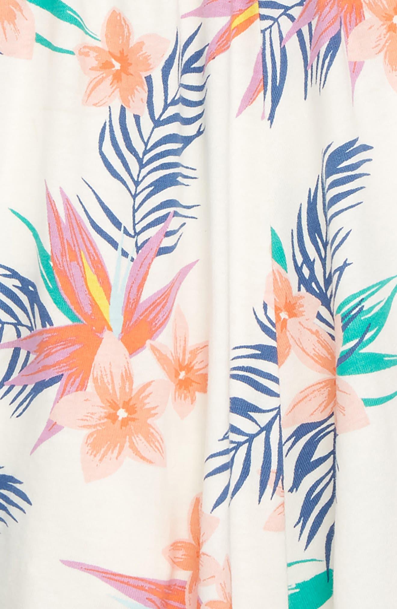 Twirl Skort,                             Alternate thumbnail 2, color,                             Hawaiian Florals