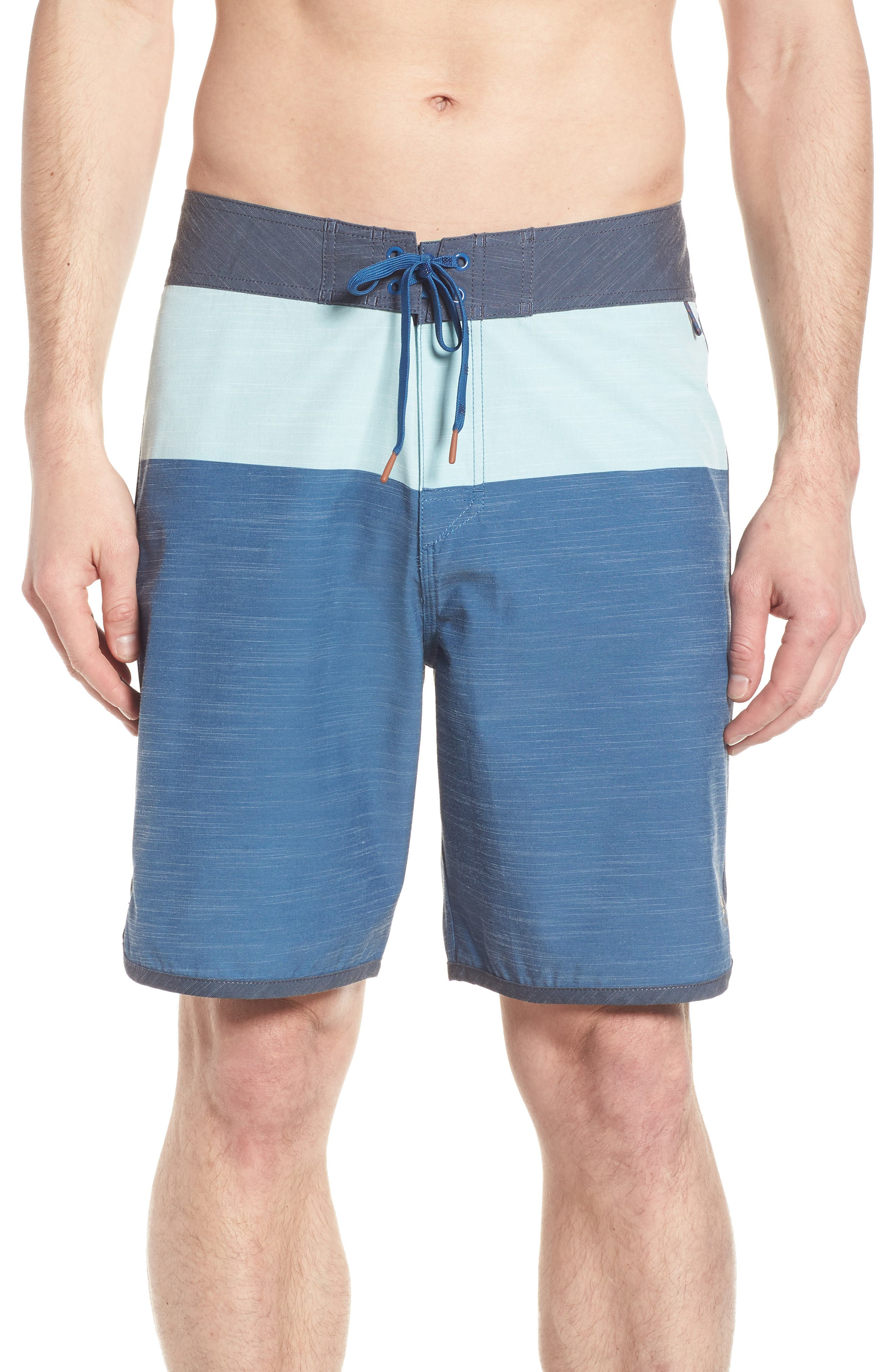 Beachcomber Board Shorts,                         Main,                         color, Ocean Blue