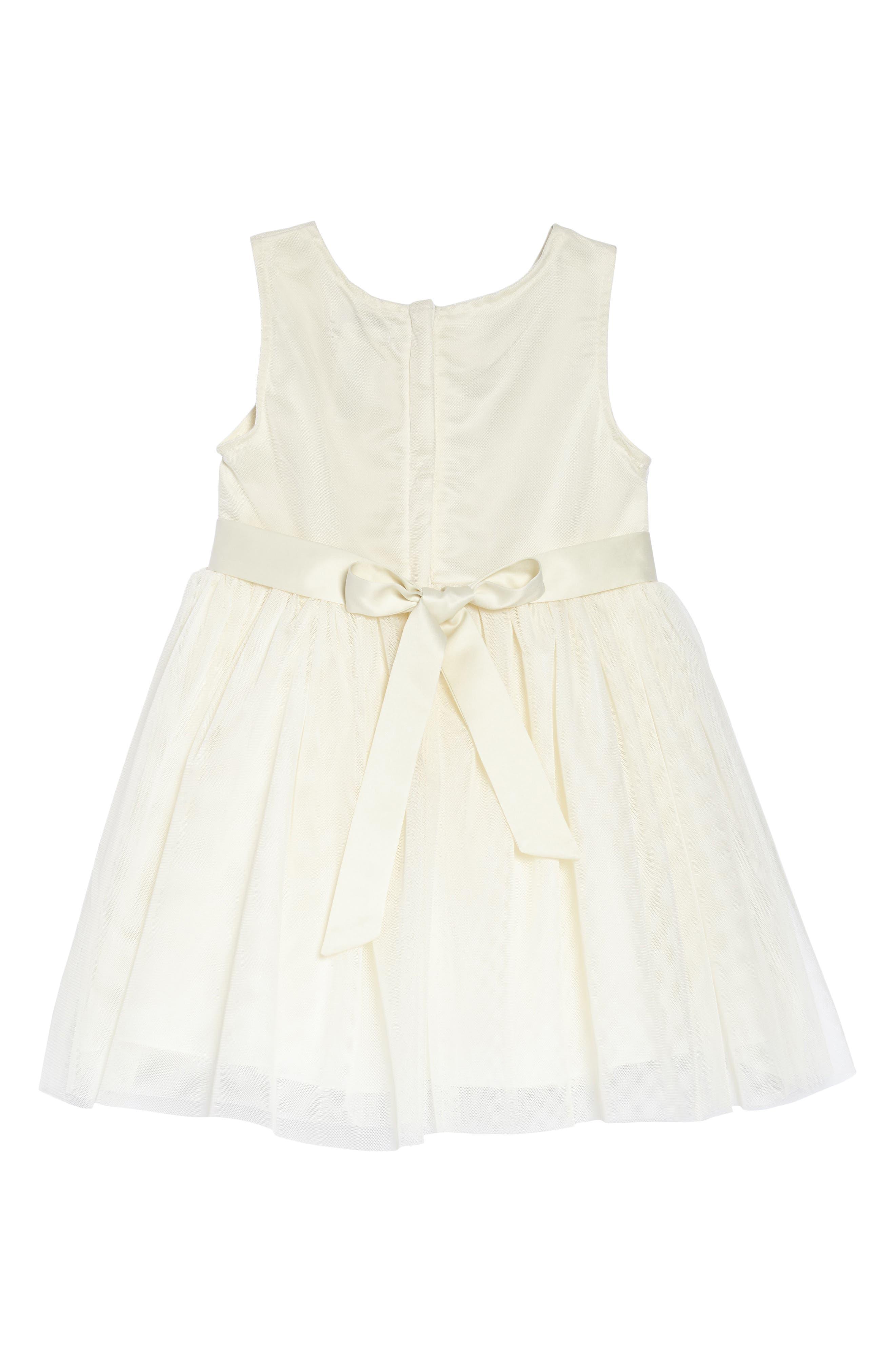 Alternate Image 2  - Nanette Lepore Flower Embroidered Party Dress (Toddler Girls & Little Girls)