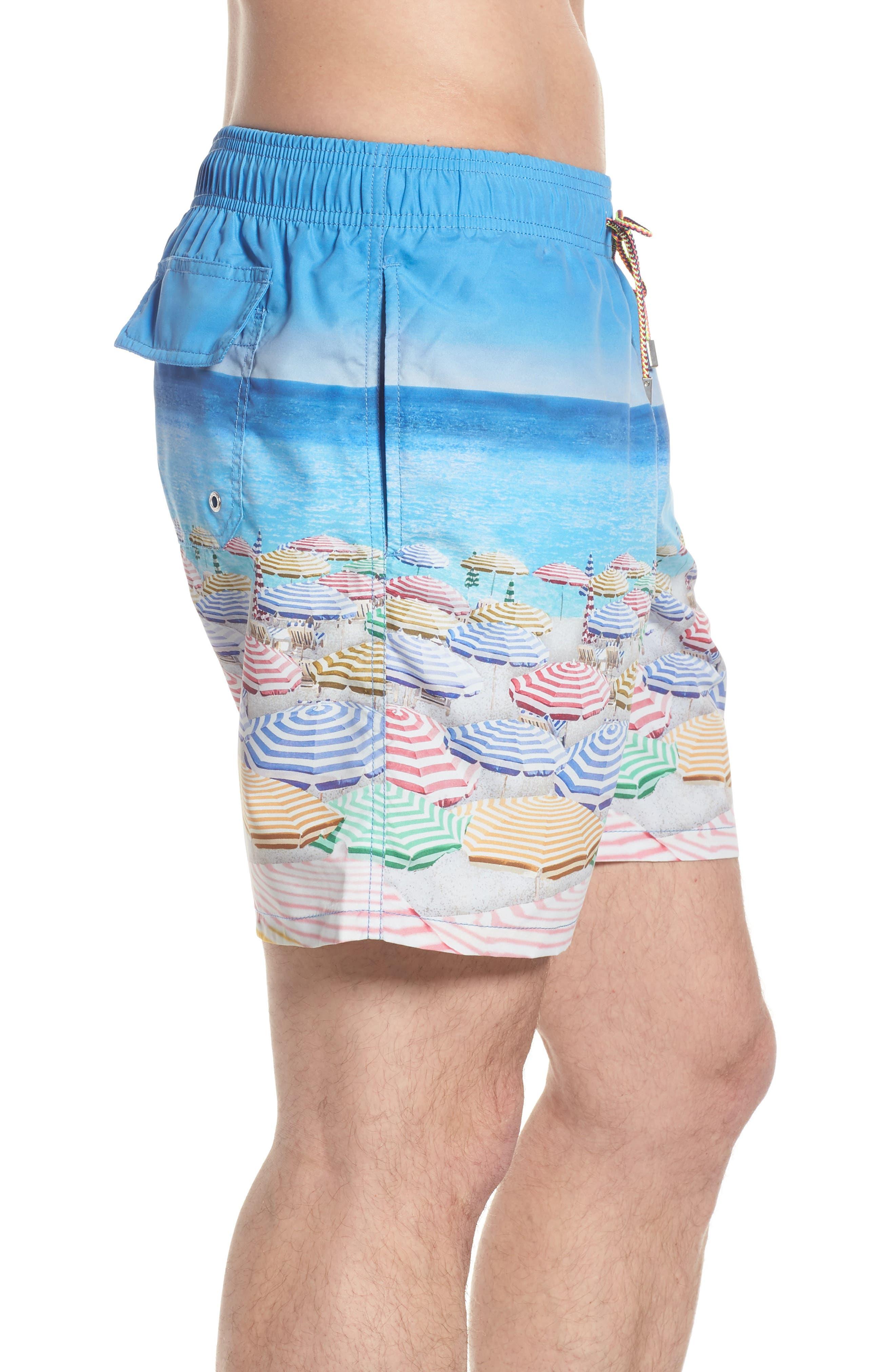 Swim Trunks,                             Alternate thumbnail 3, color,                             Ocean
