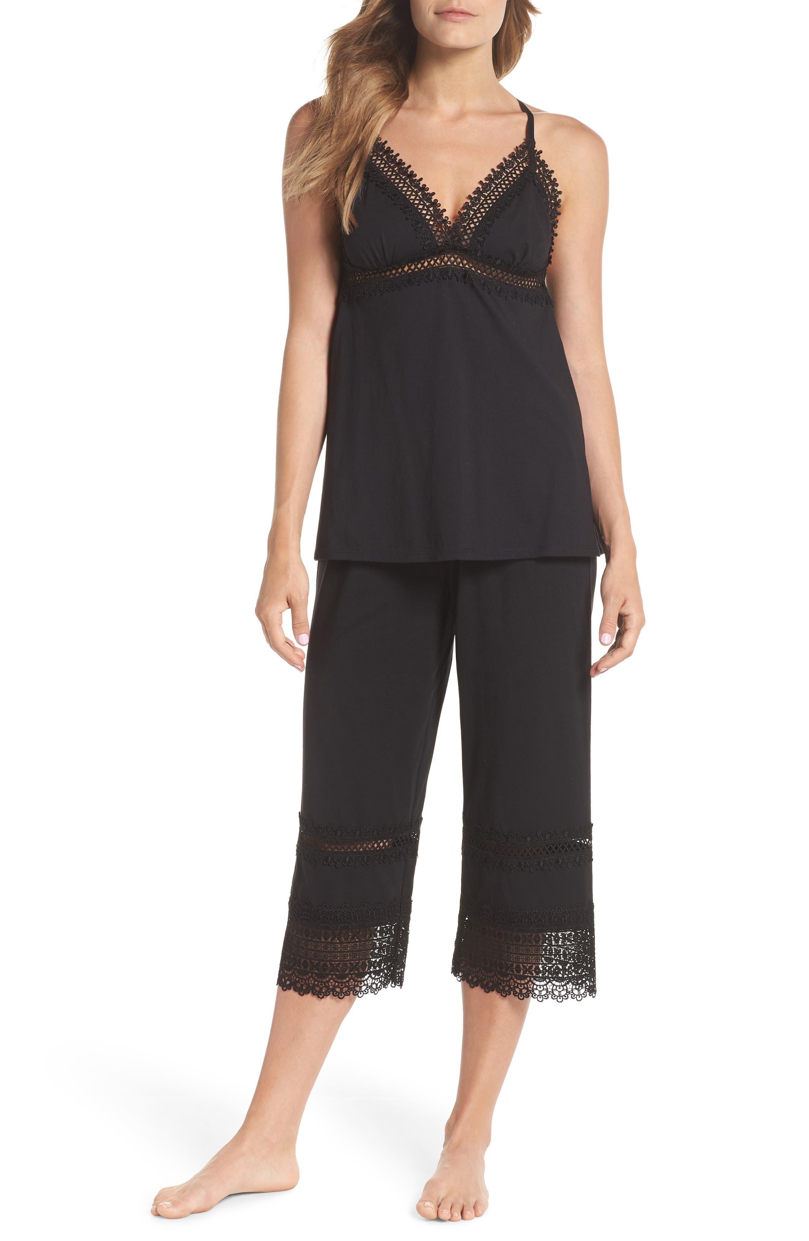 Edie Pajamas,                         Main,                         color, Black