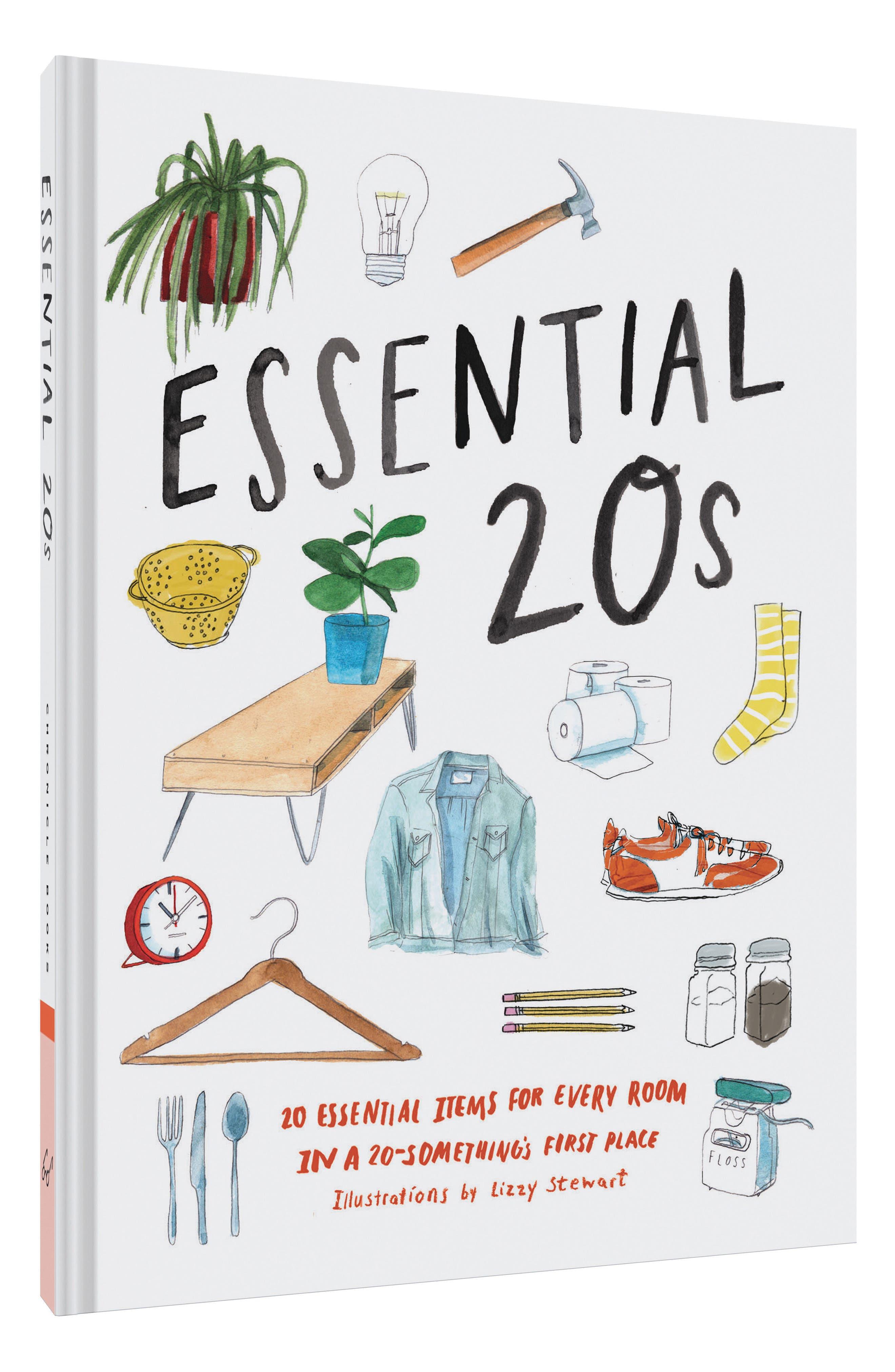 Essential 20s Book,                             Alternate thumbnail 2, color,                             White Multi