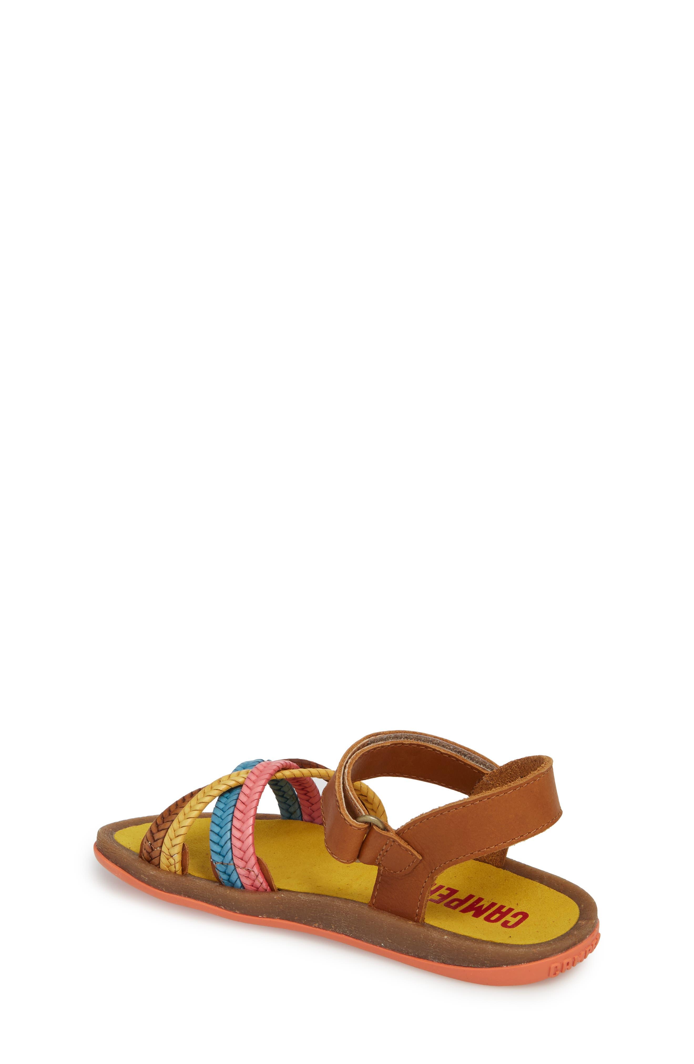 Bicho Braided Sandal,                             Alternate thumbnail 2, color,                             Multi