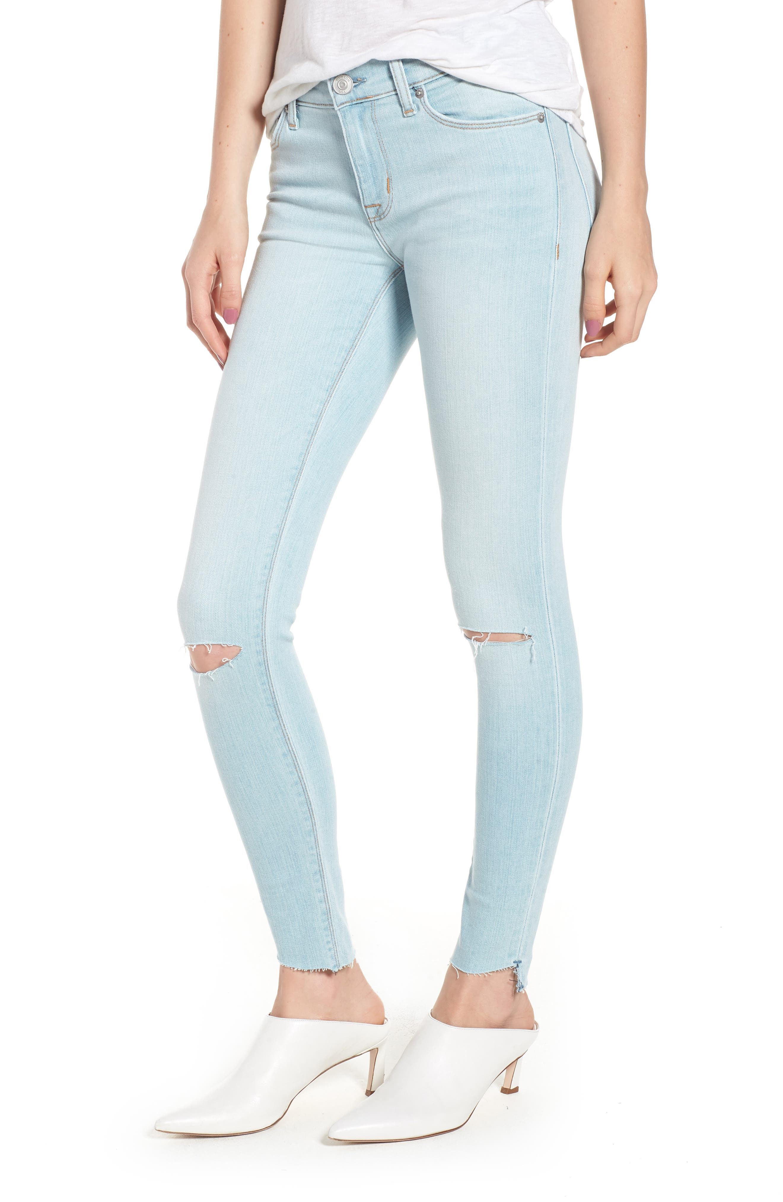 Krista Ankle Super Skinny Jeans,                             Main thumbnail 1, color,                             In Love