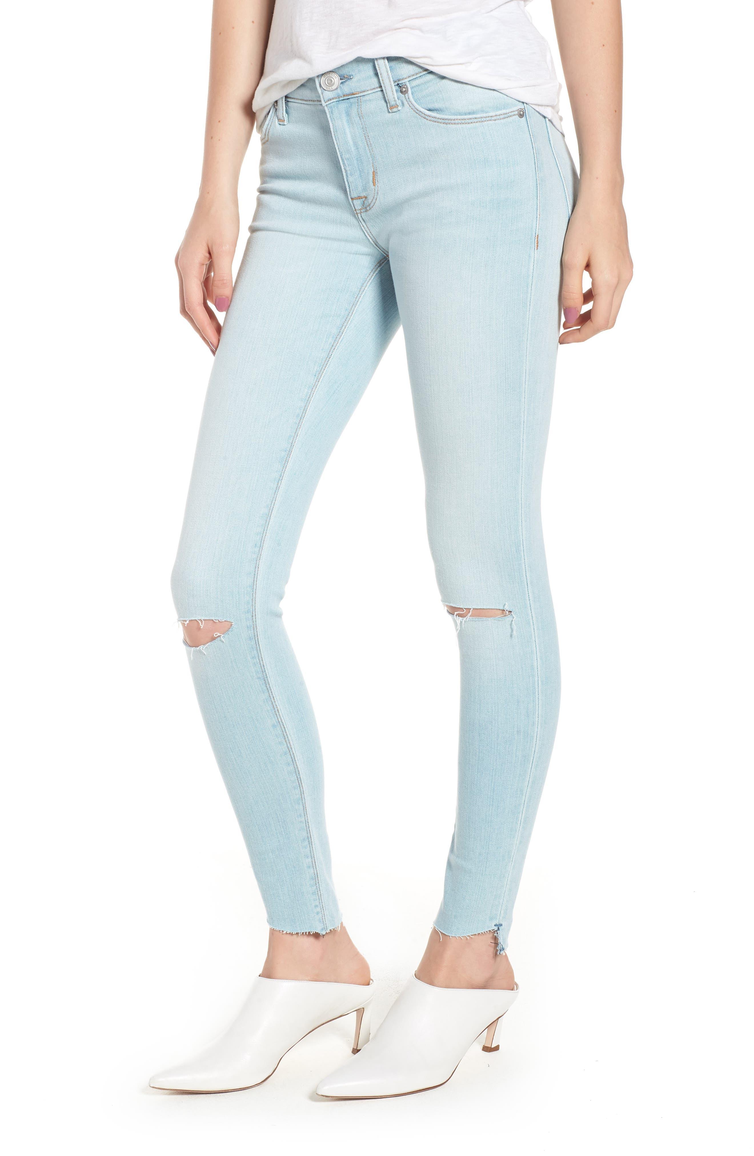 Krista Ankle Super Skinny Jeans,                         Main,                         color, In Love