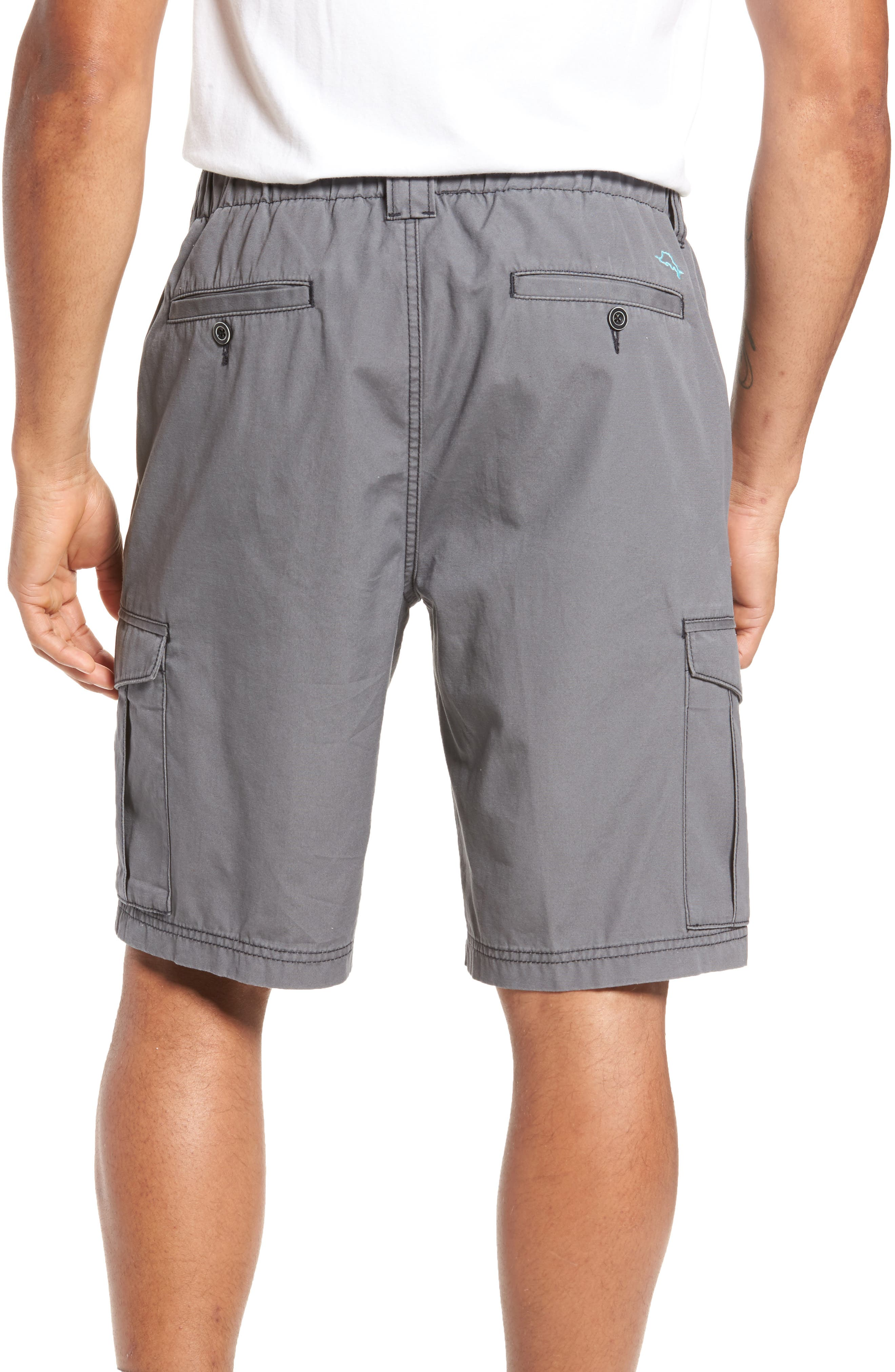 Island Survivalist Cargo Shorts,                             Alternate thumbnail 2, color,                             Fog Grey