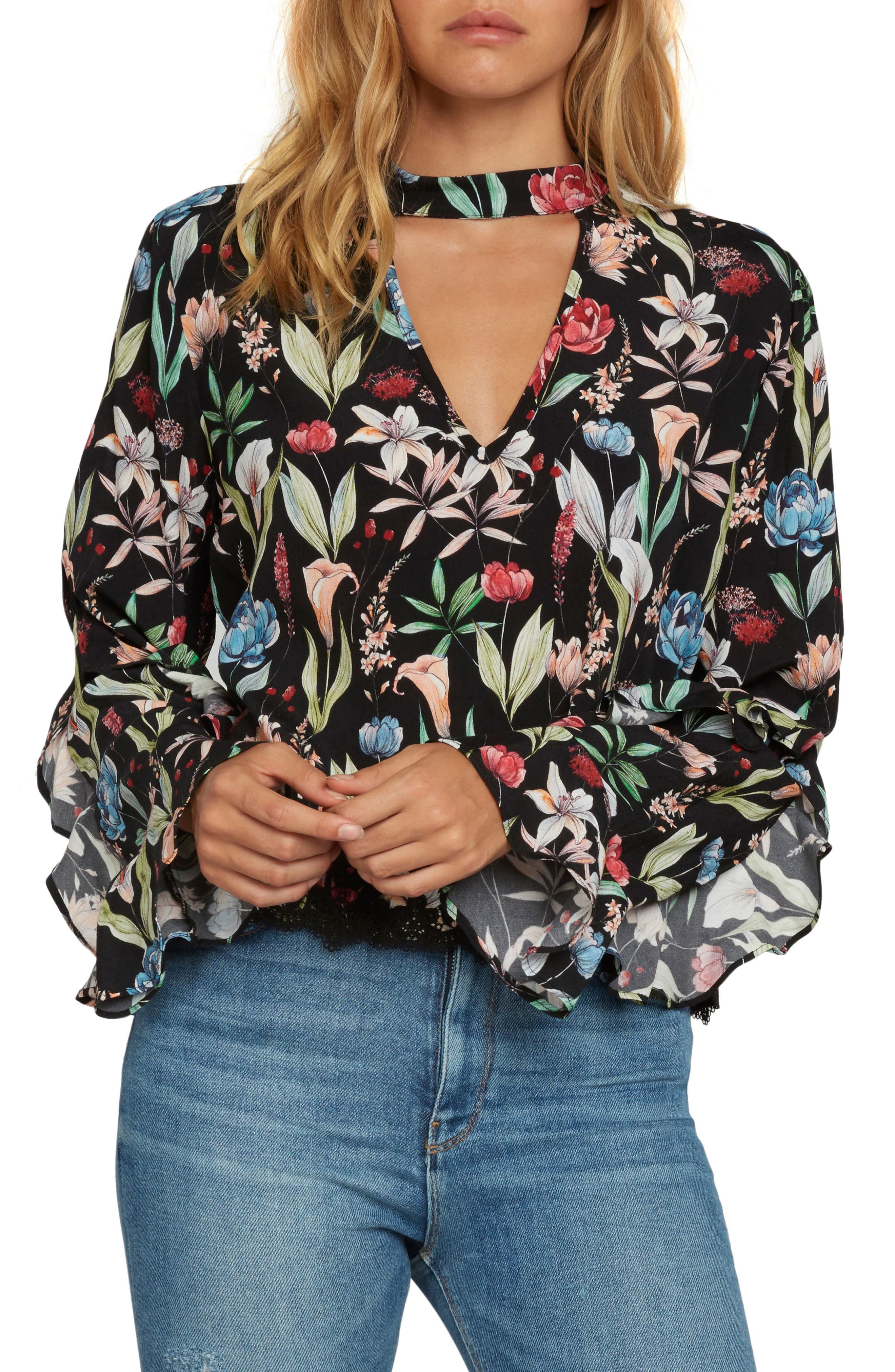 Willow & Clay Print Blouse